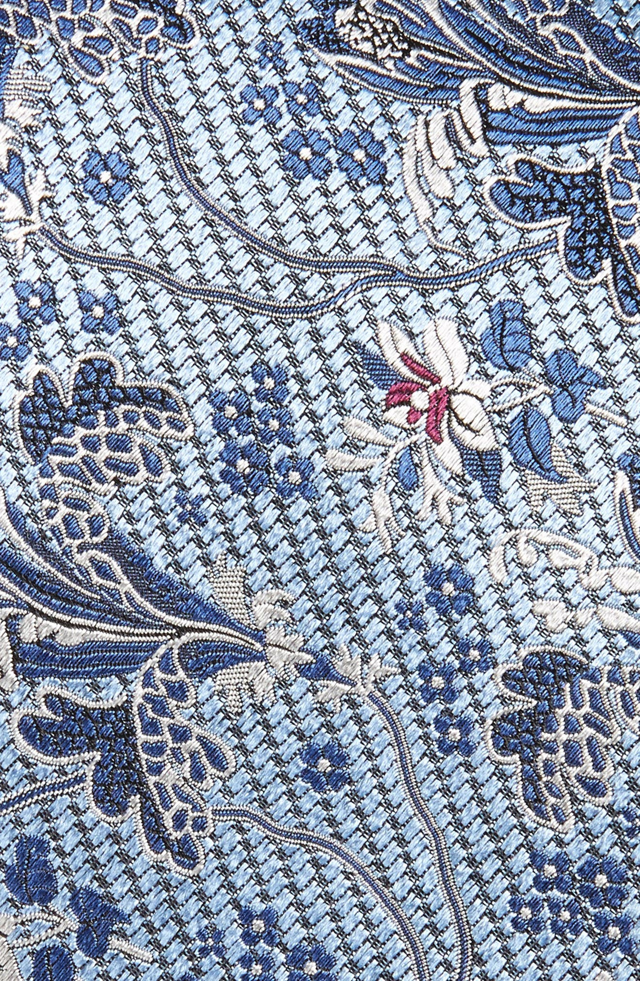 Alternate Image 2  - Ermenegildo Zegna Floral Silk Tie