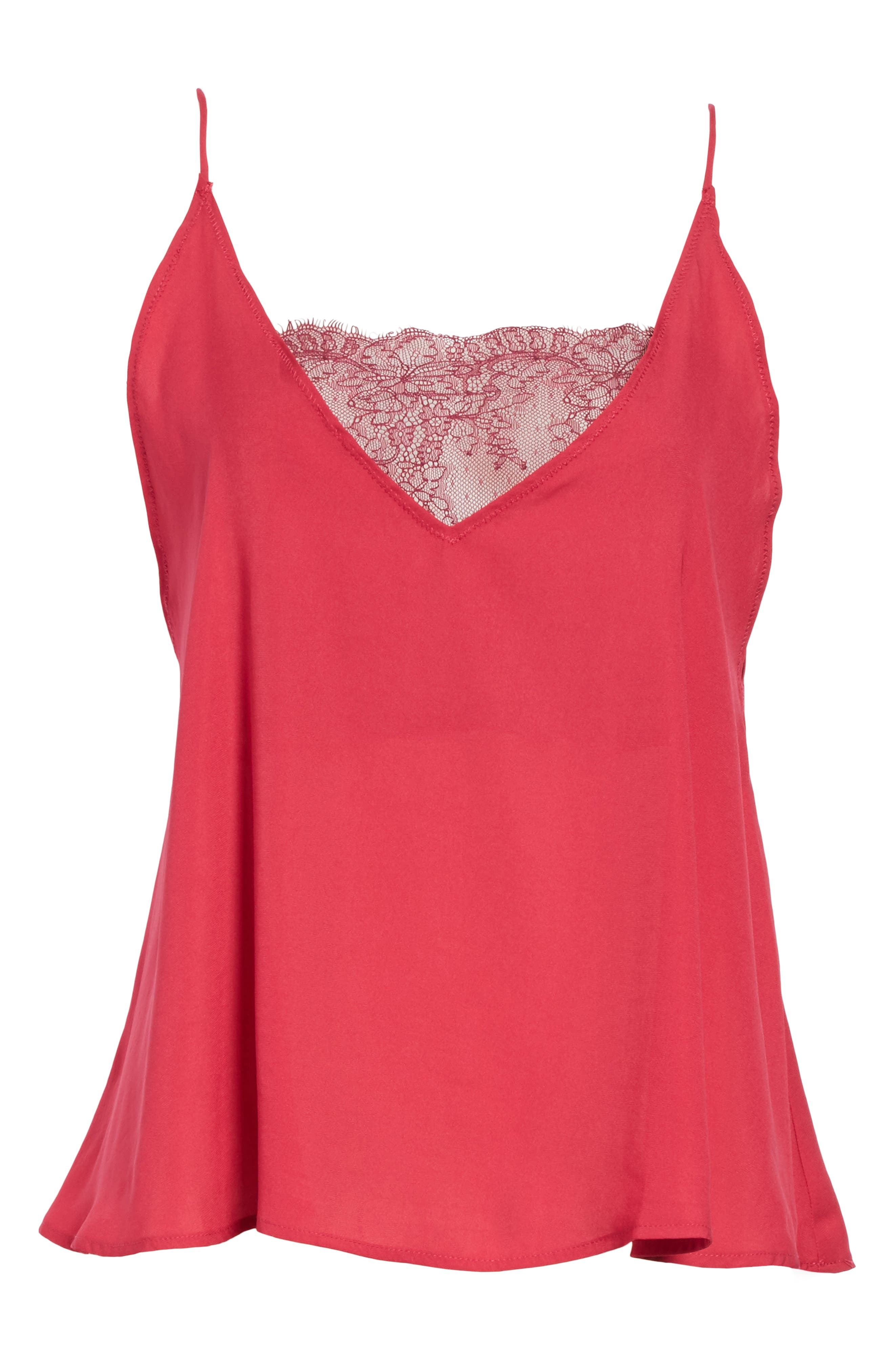 Alternate Image 6  - Free People Lace Inset Camisole