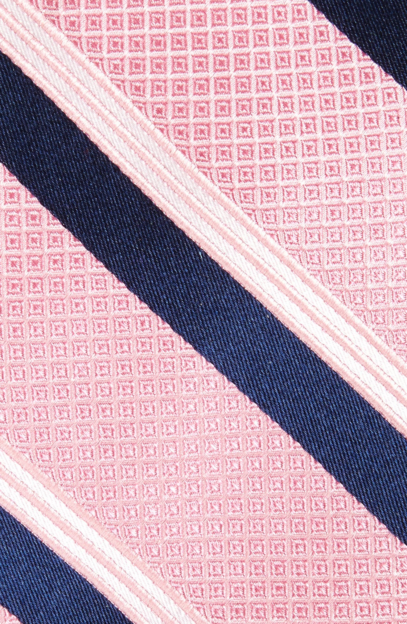 Alternate Image 2  - Nordstrom Men's Shop Stripe Silk Tie