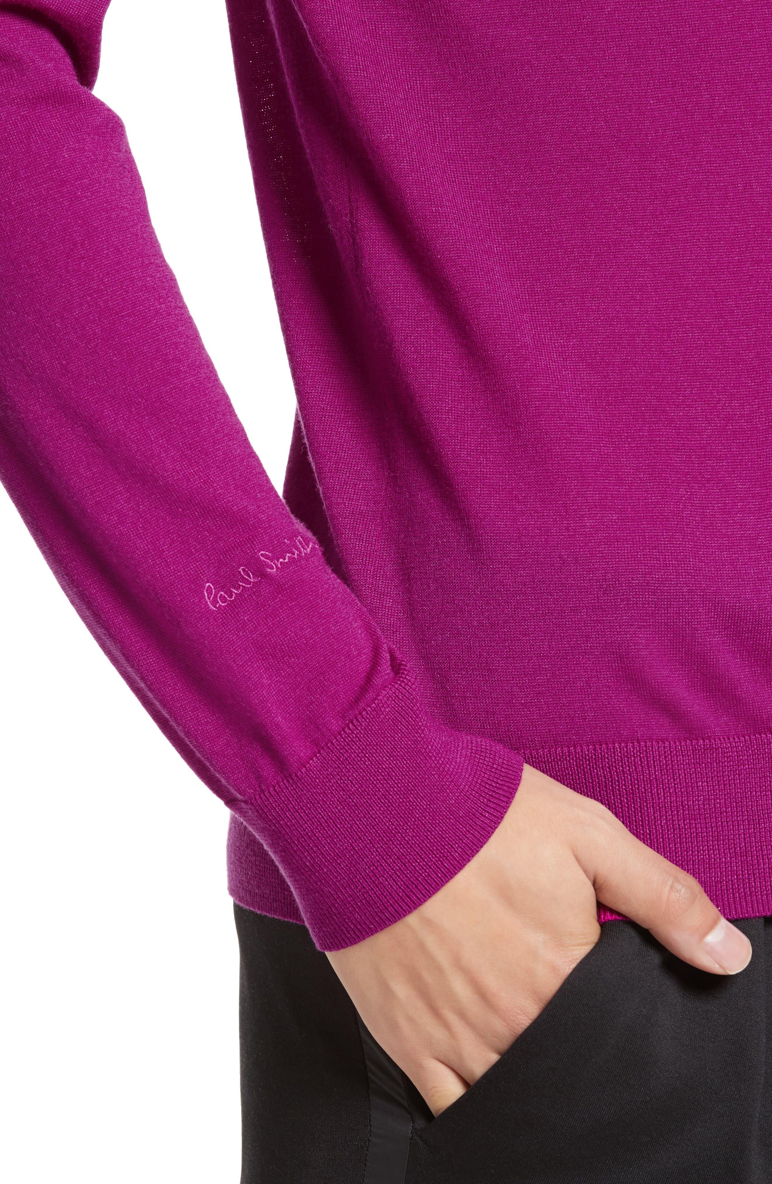 Alternate Image 4  - Paul Smith Merino Wool Crewneck Sweater