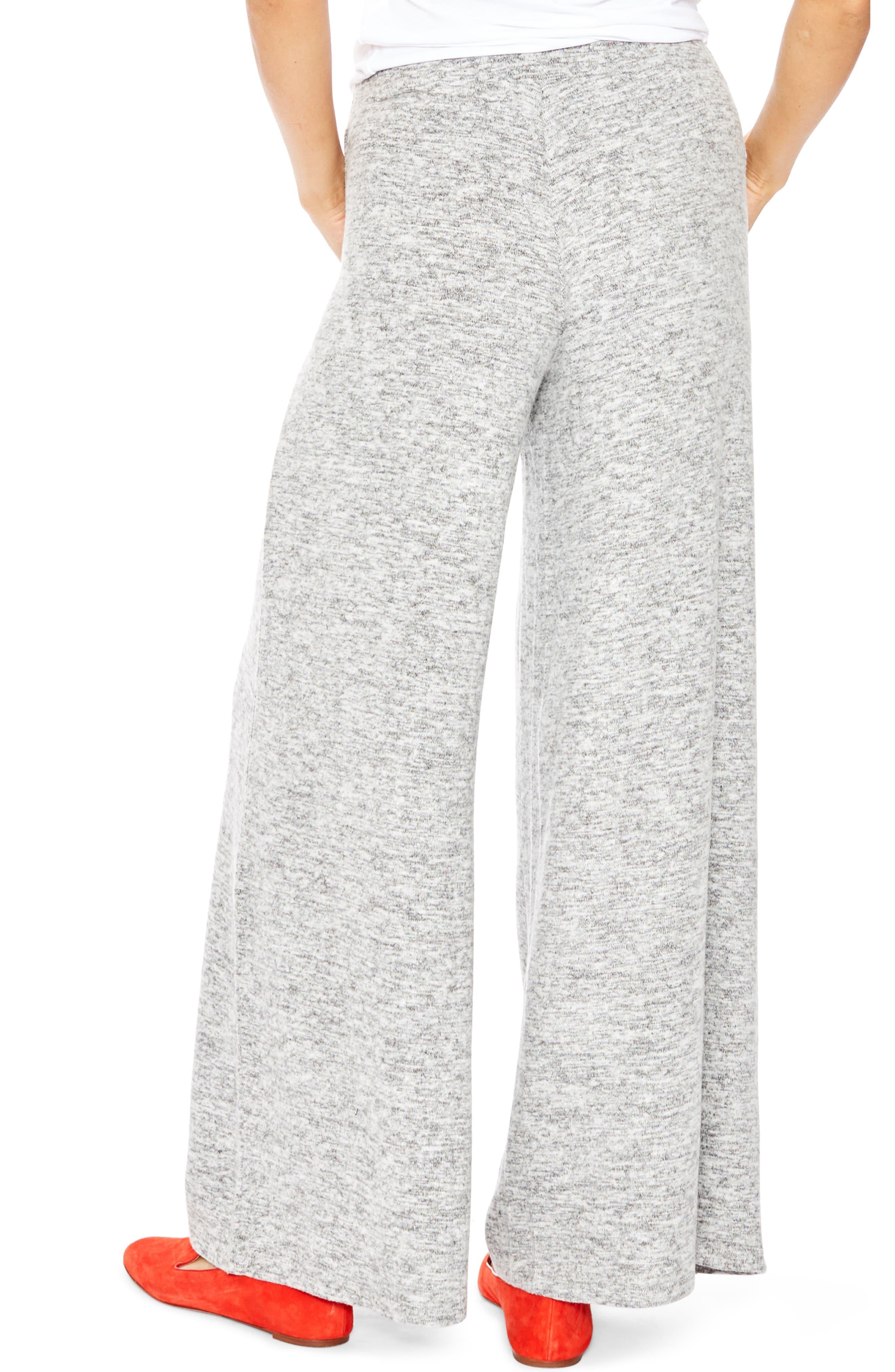Riley Maternity Sweatpants,                             Alternate thumbnail 2, color,                             Grey Melange