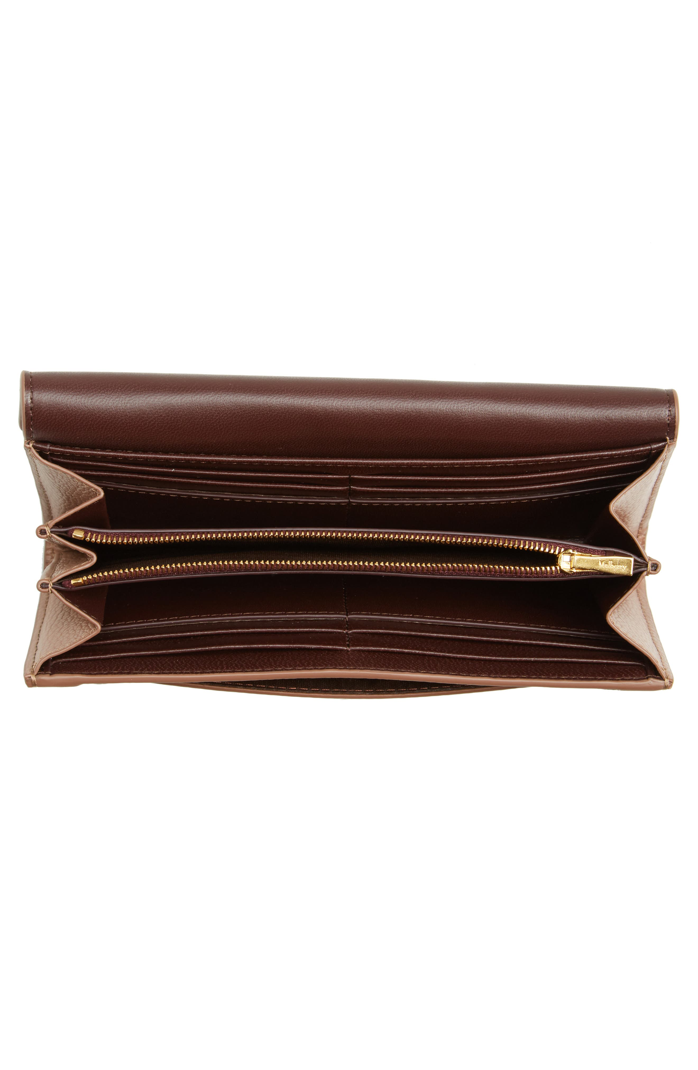 Alternate Image 4  - Mulberry Darley Continental Leather Wallet