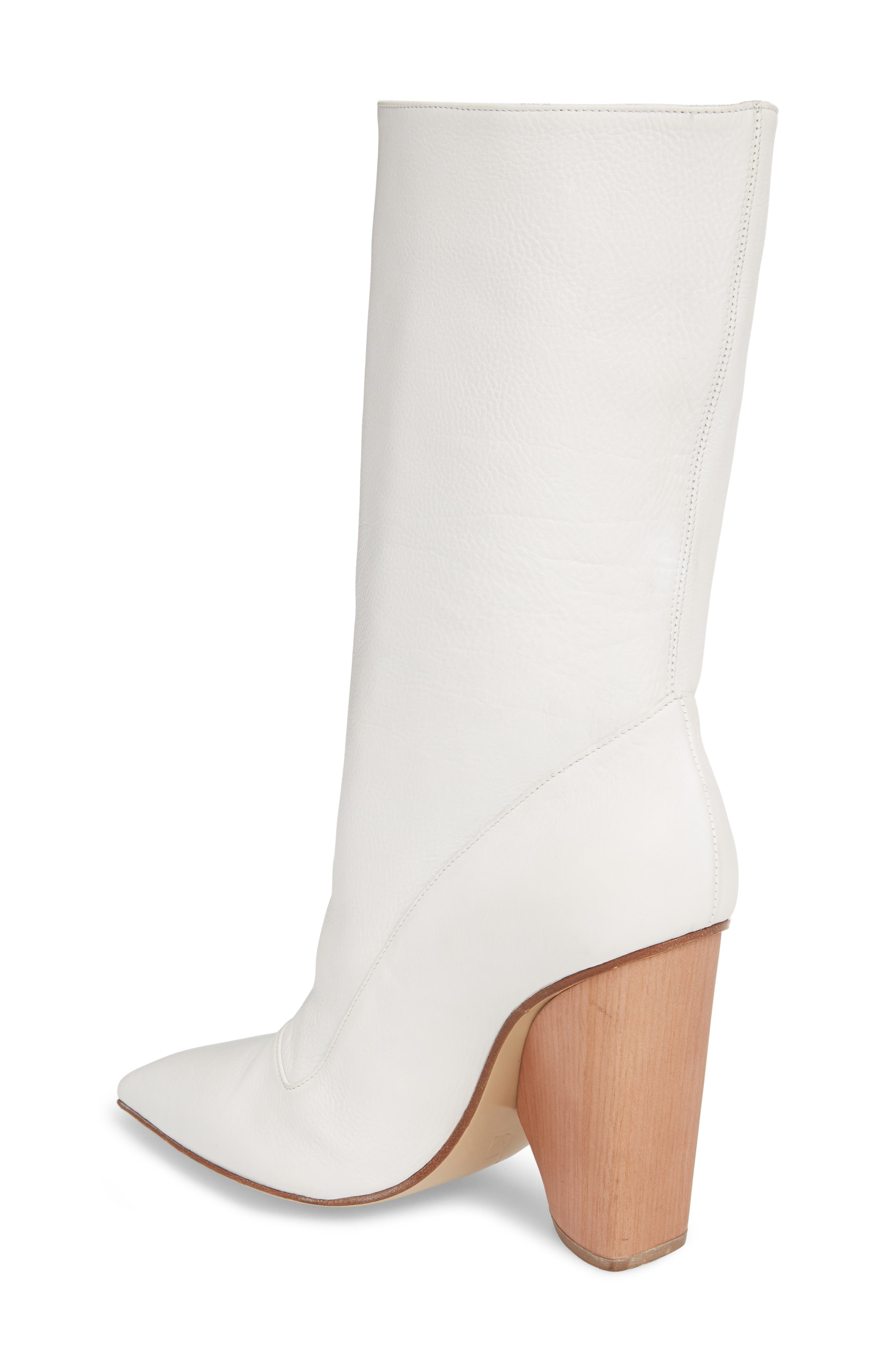 Judd Pointy Toe Boot,                             Alternate thumbnail 2, color,                             White