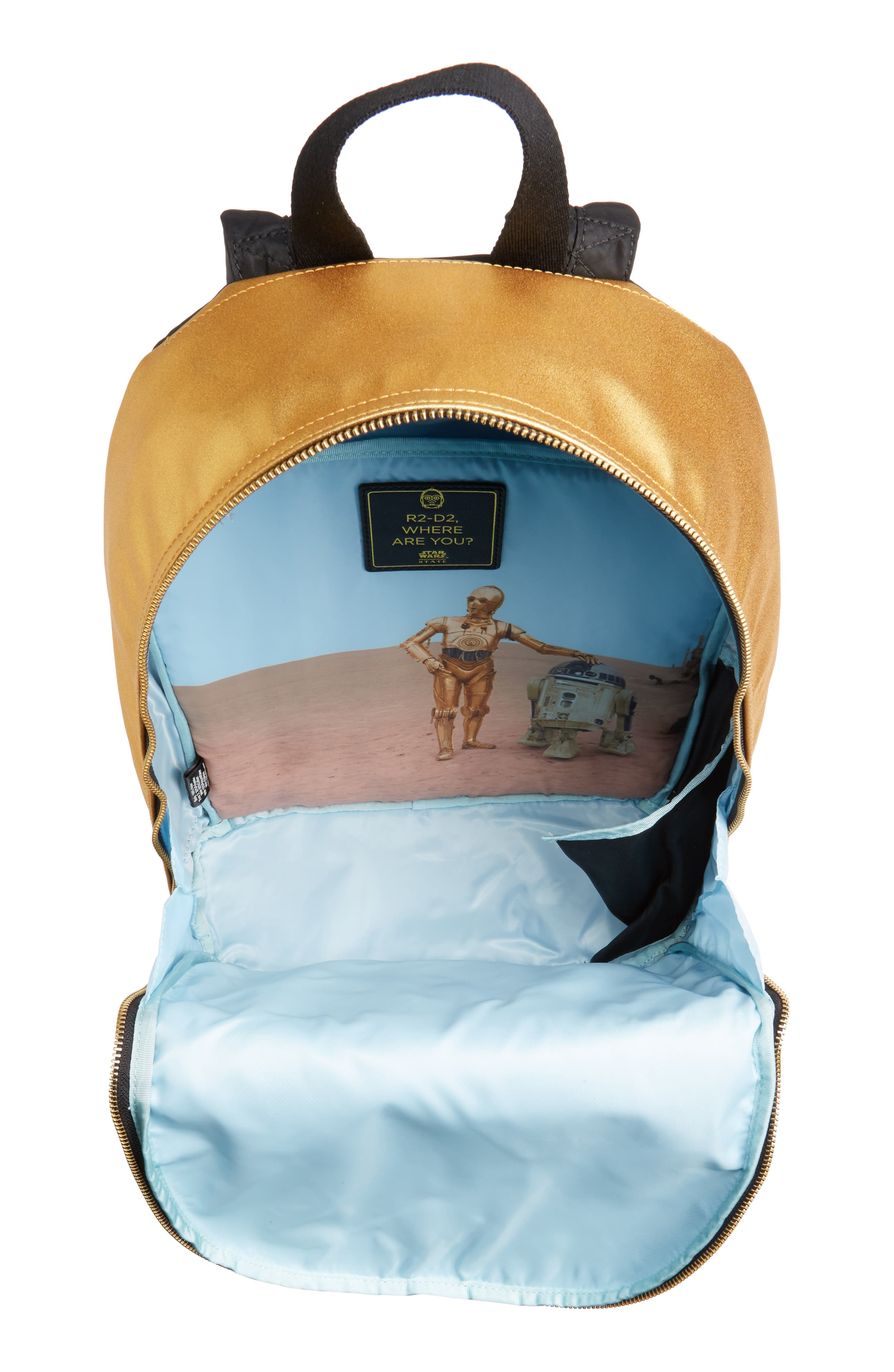 Alternate Image 4  - STATE Bags Star Wars - C-3PO Lorimer Backpack