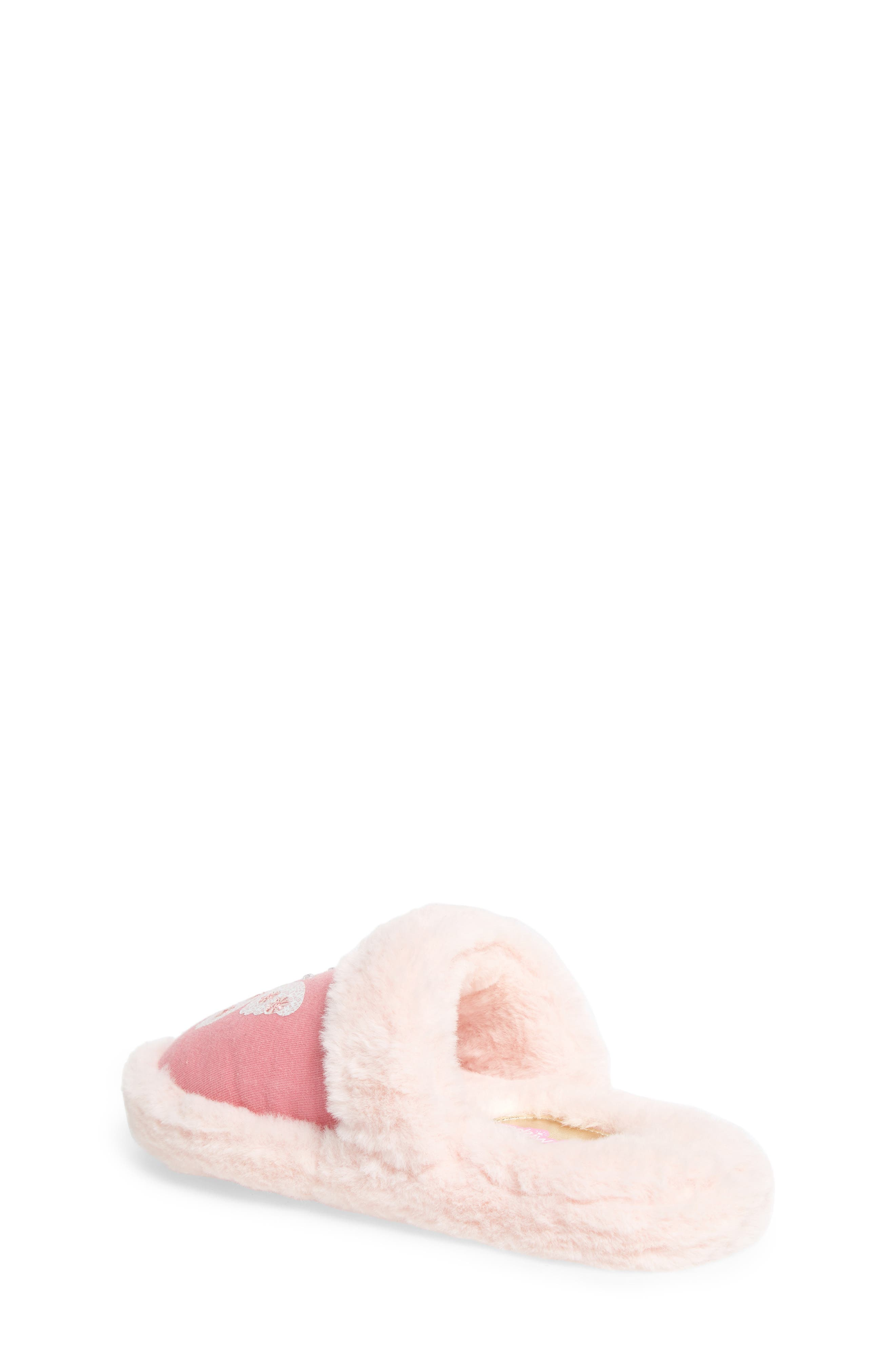 Alternate Image 2  - WellieWishers from American Girl Ashlyn Faux Fur Slipper (Toddler, Little Kid & Big Kid)