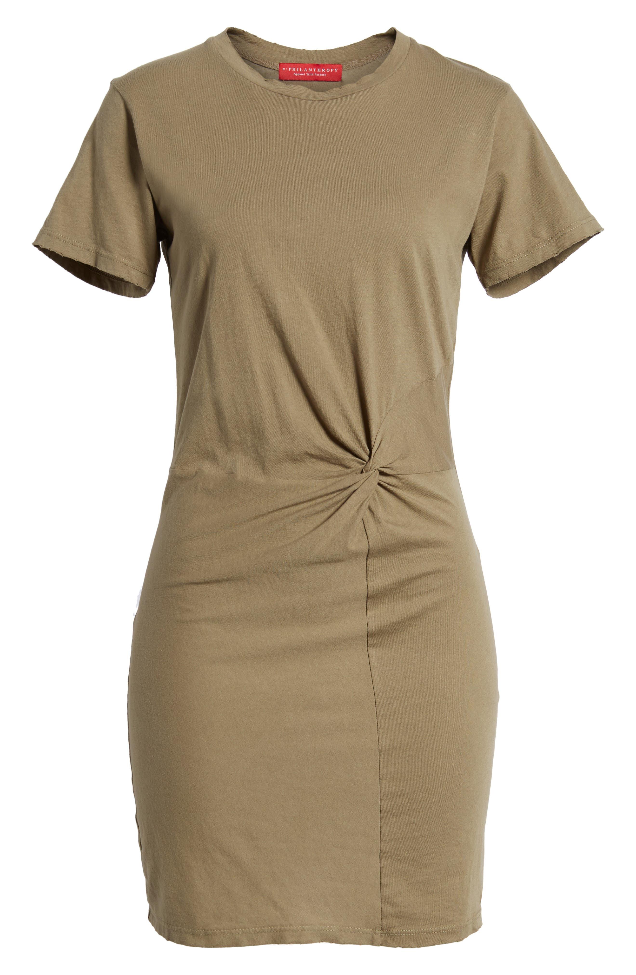 Alternate Image 6  - n:PHILANTHROPY Jazz Knotted T-Shirt Dress