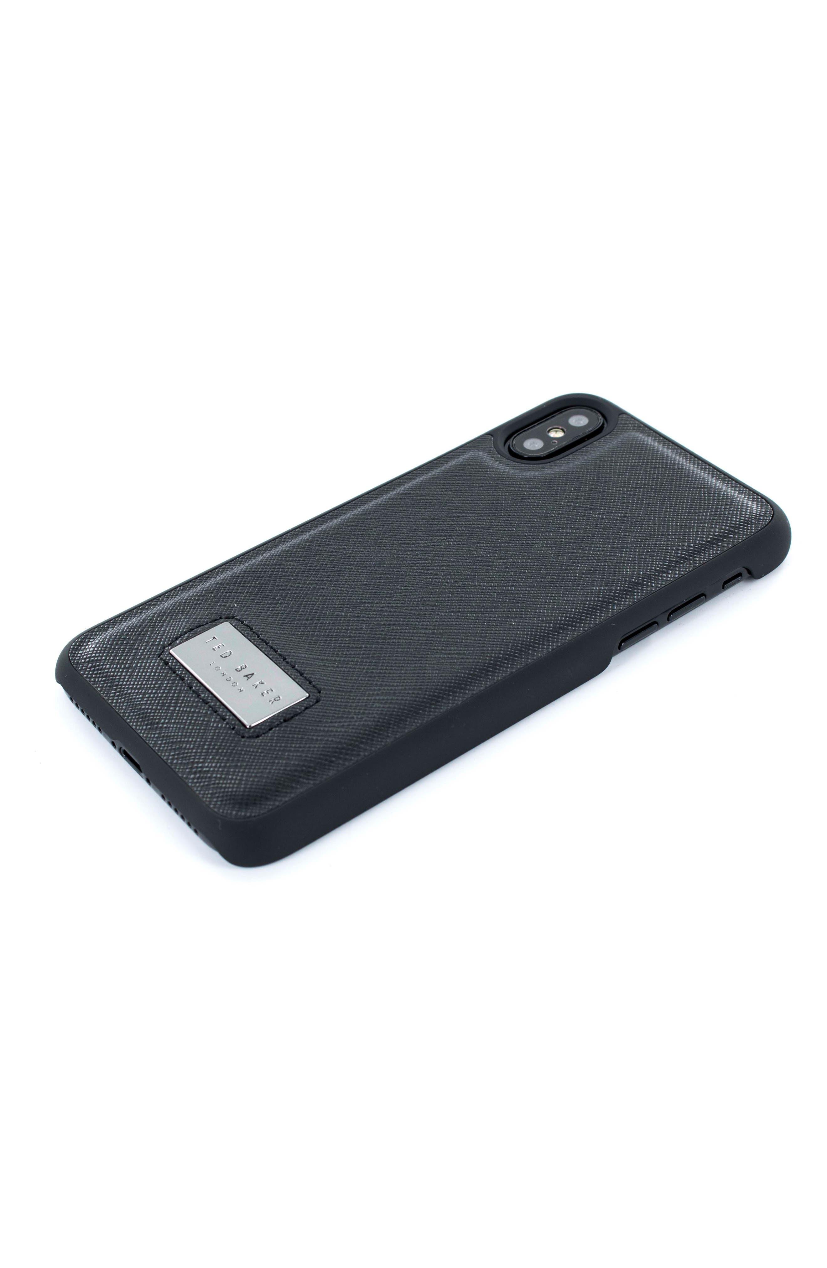 iPhone X Case,                             Main thumbnail 1, color,                             Black