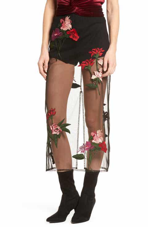 Lovers + Friends Farrow Midi Skirt