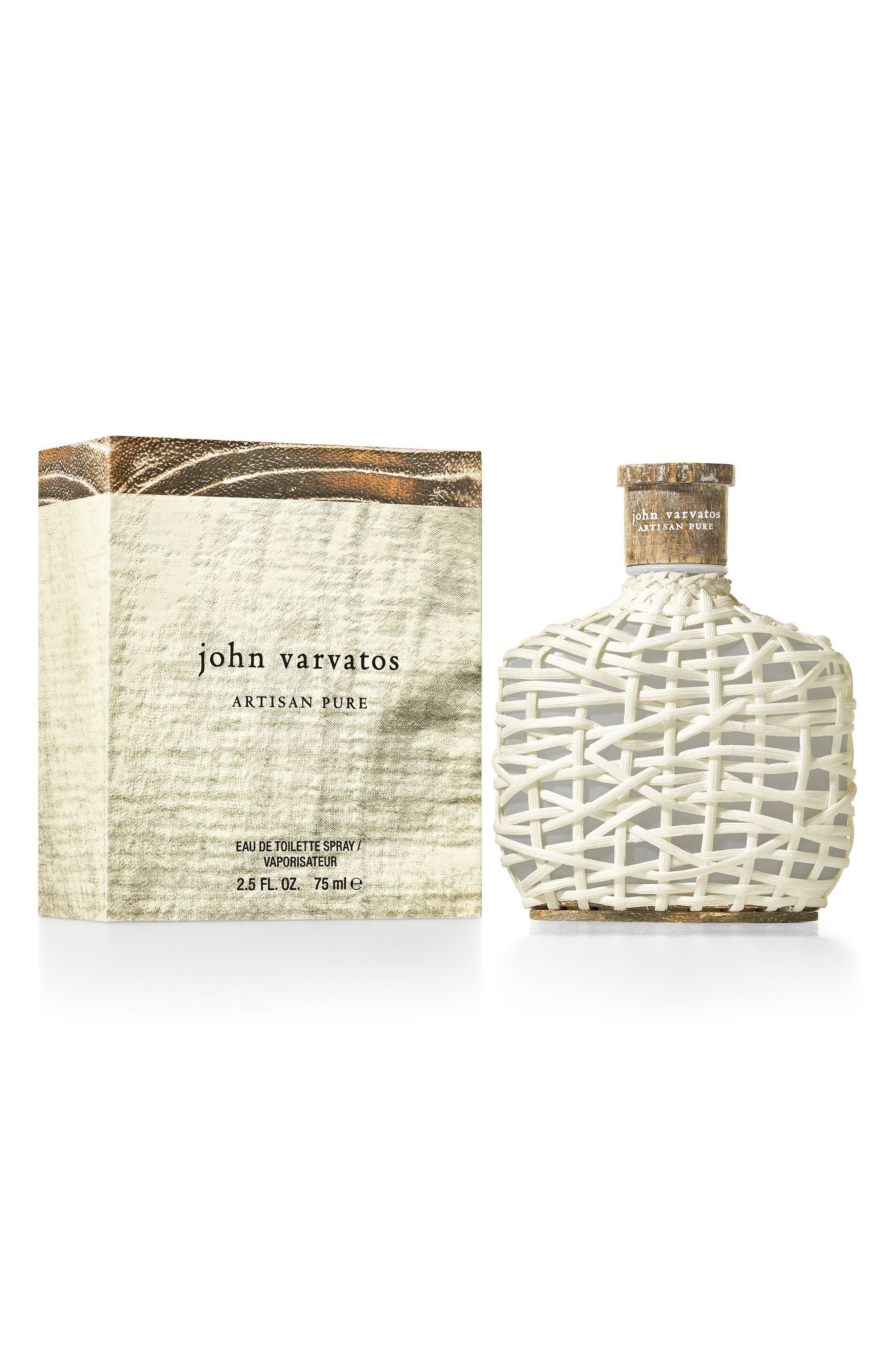 John Varvatos Artisan Pure Eau de Toilette,                             Alternate thumbnail 4, color,                             No Color