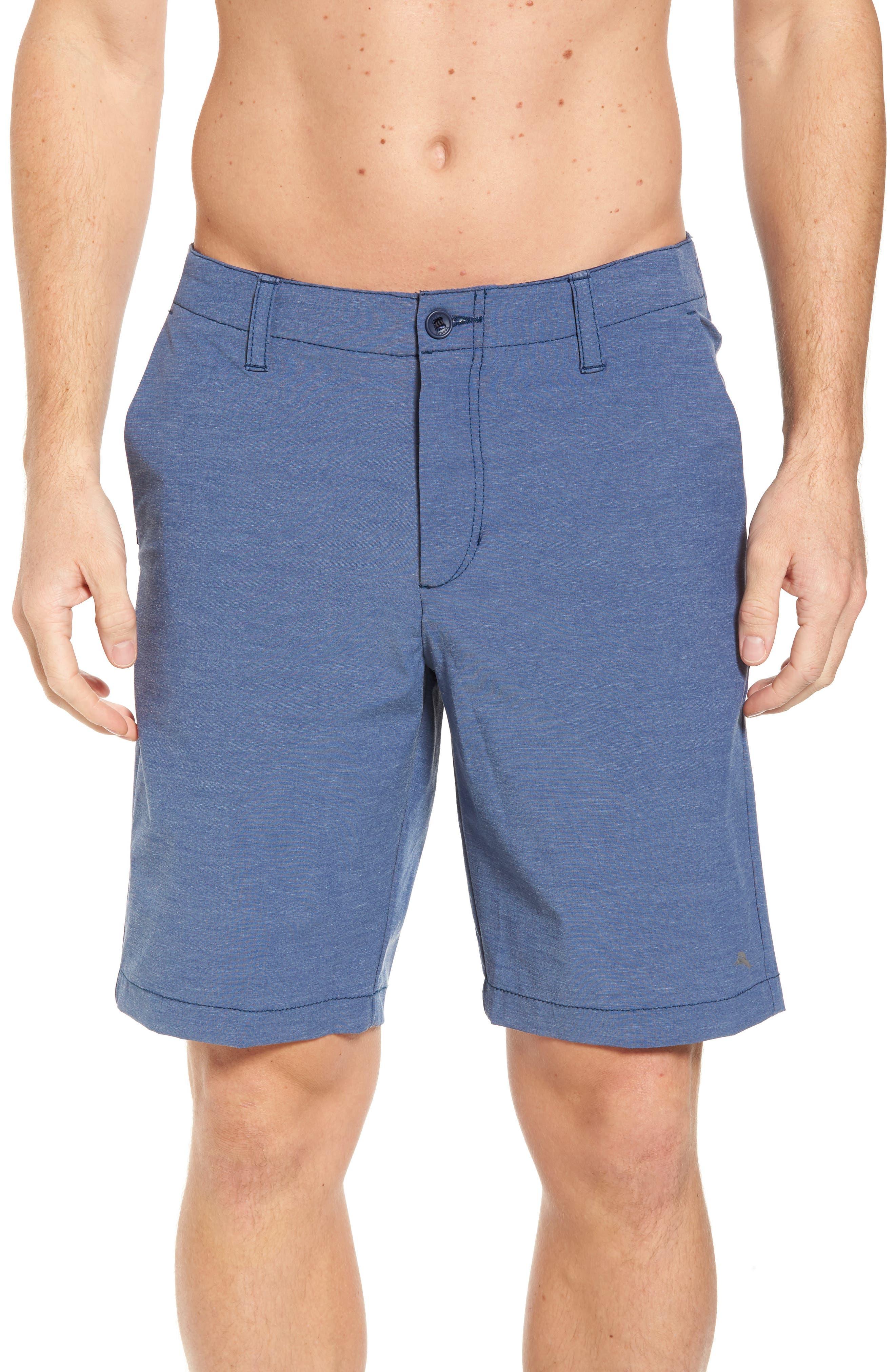 Chip & Run Shorts,                         Main,                         color, Dockside Blue