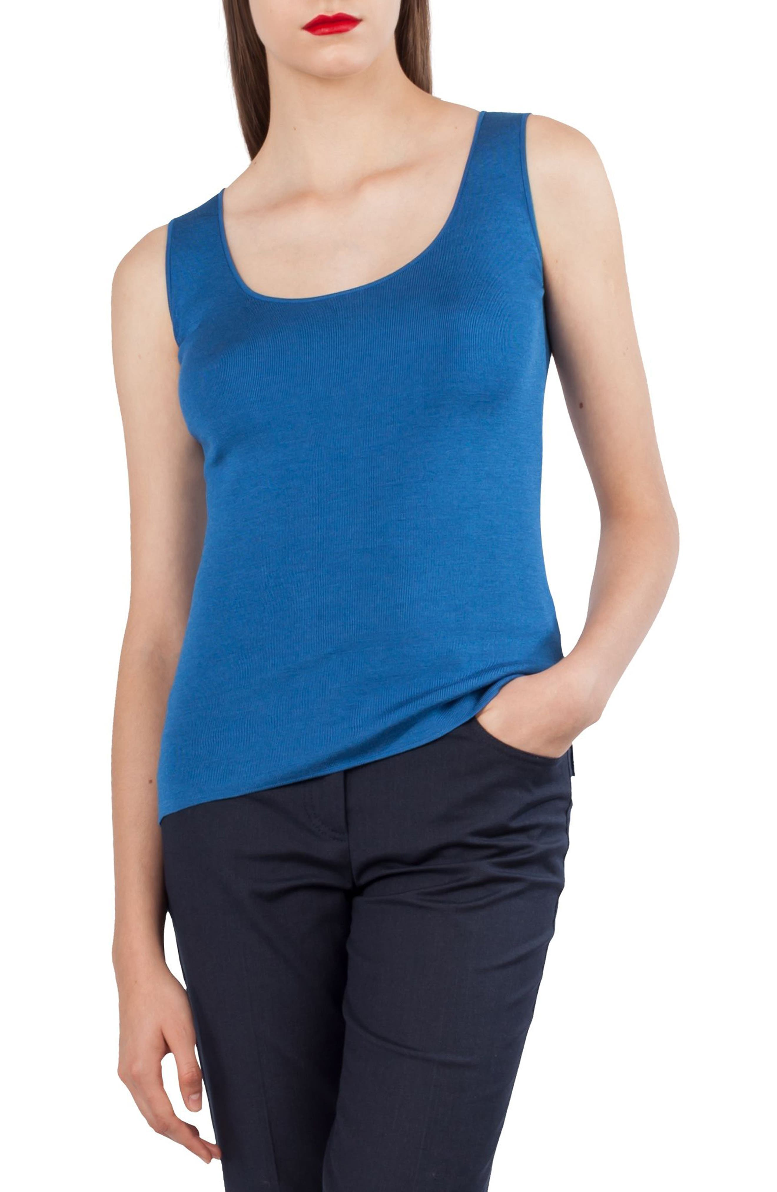 Akris Knit Silk Blend Top