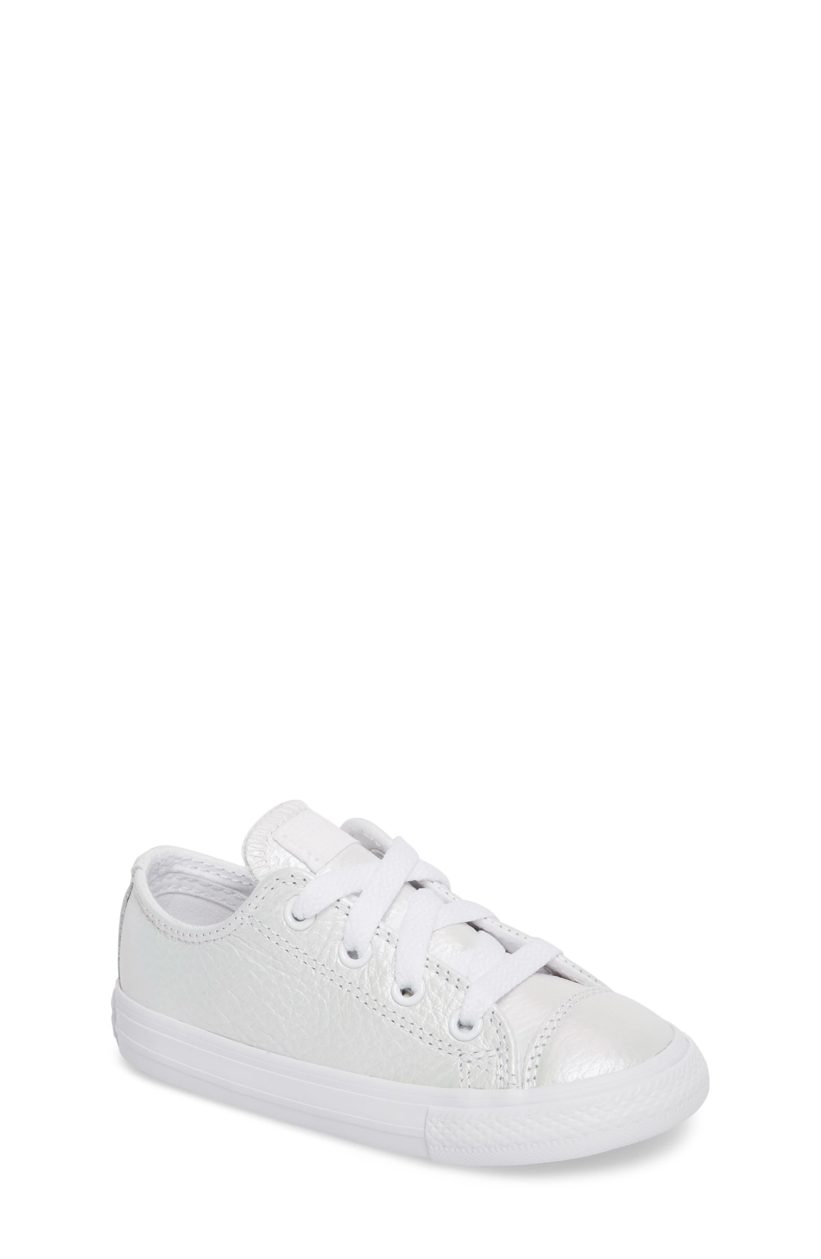 Main Image - Converse Chuck Taylor® All Star® Iridescent Sneaker (Baby, Walker, Toddler & Little Kid)