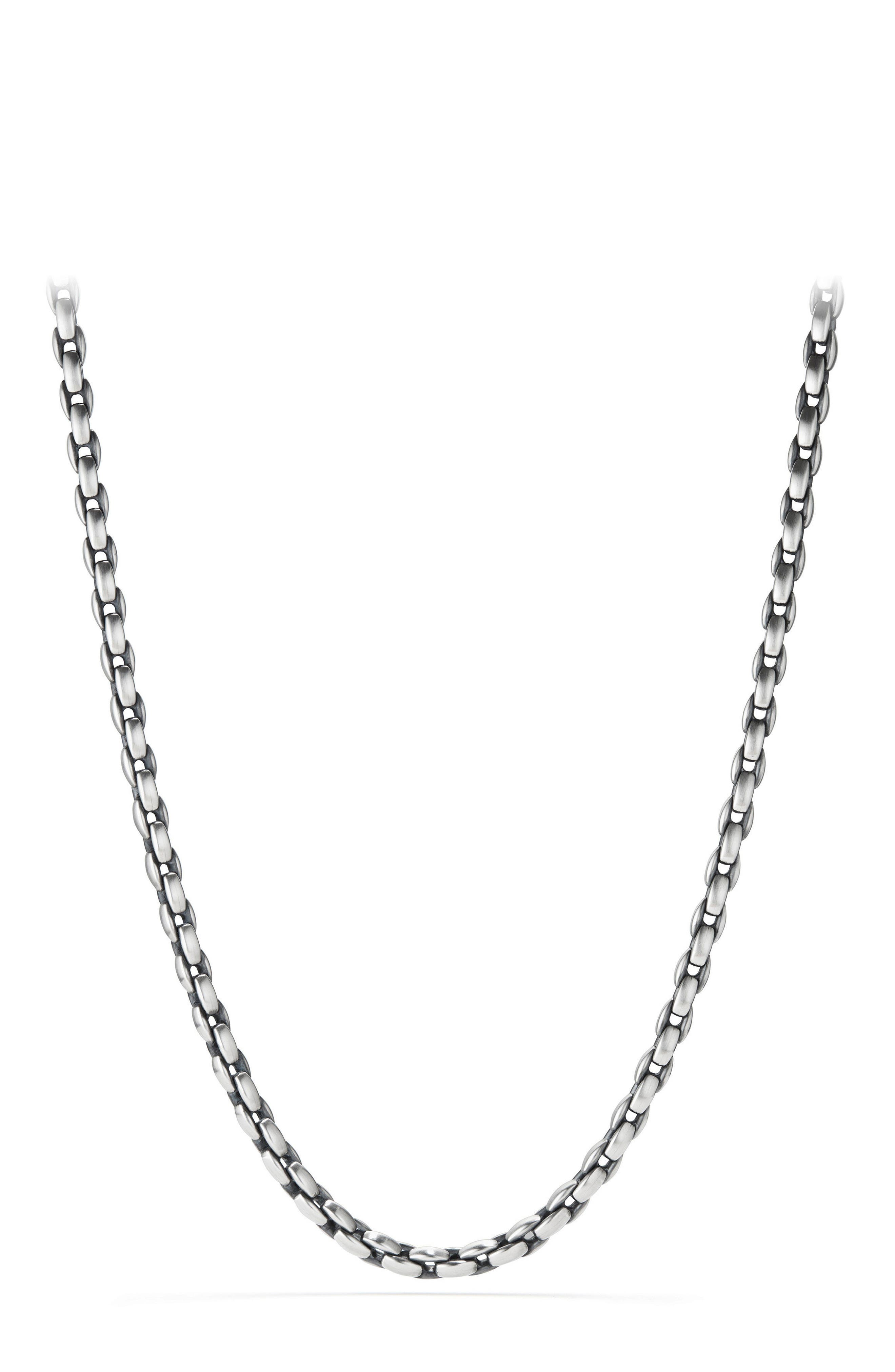 Streamline Chain Necklace,                         Main,                         color, Silver