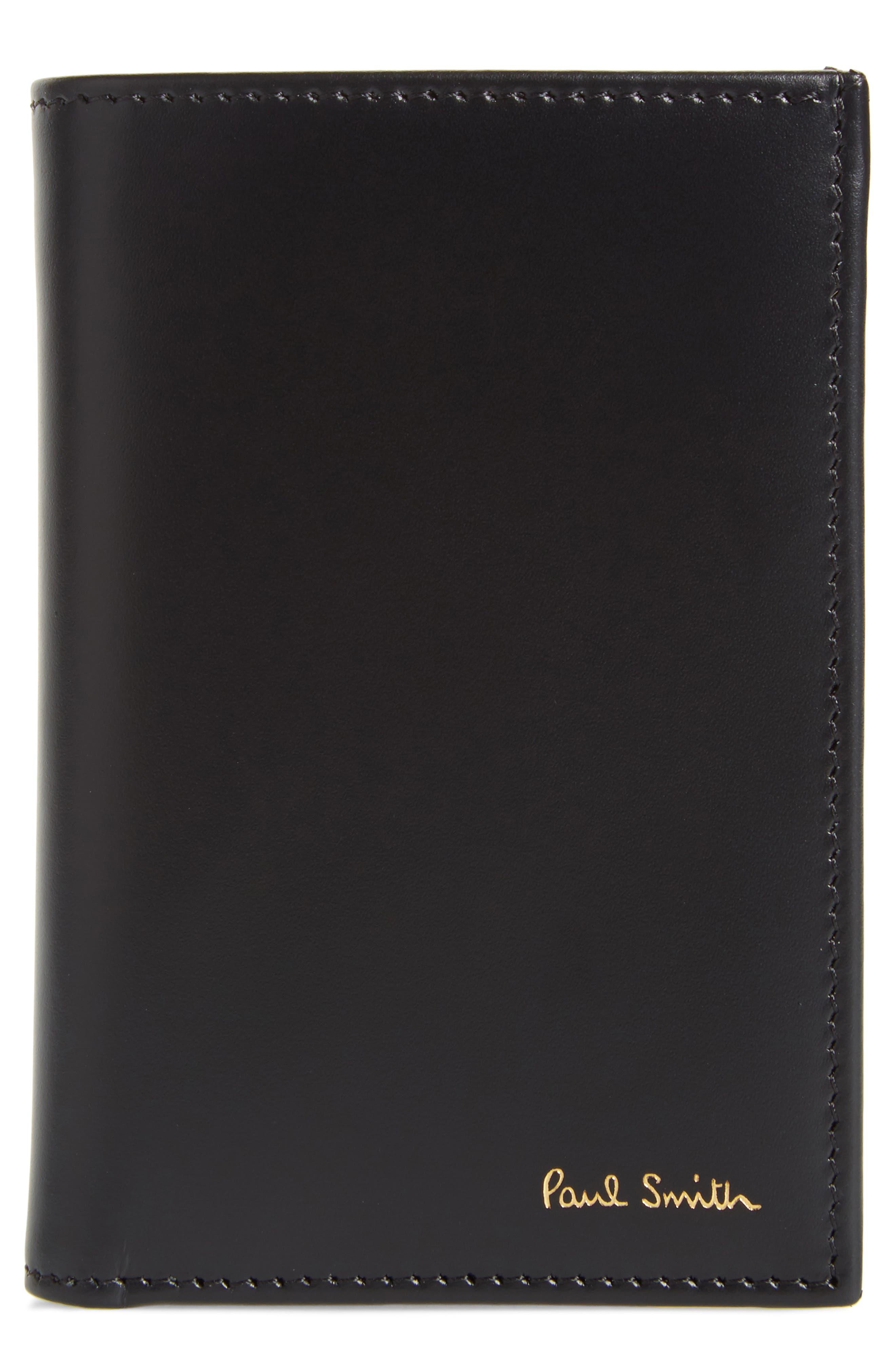 Paul Smith Multistripe Leather Card Case