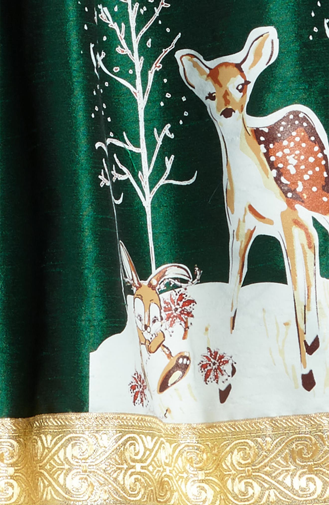 Fawn of Winter Dress,                             Alternate thumbnail 3, color,                             Green