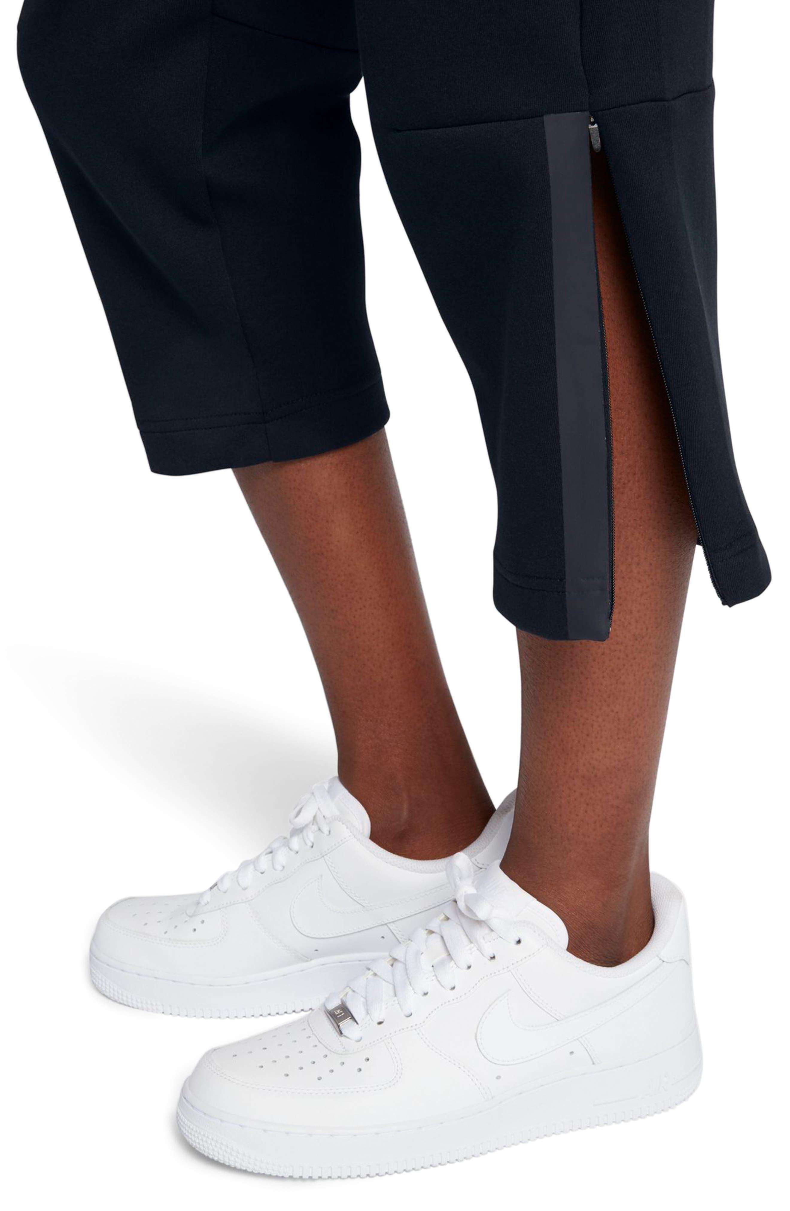 Sportswear Women's Tech Fleece Sneaker Pants,                             Alternate thumbnail 6, color,                             Black/ Black
