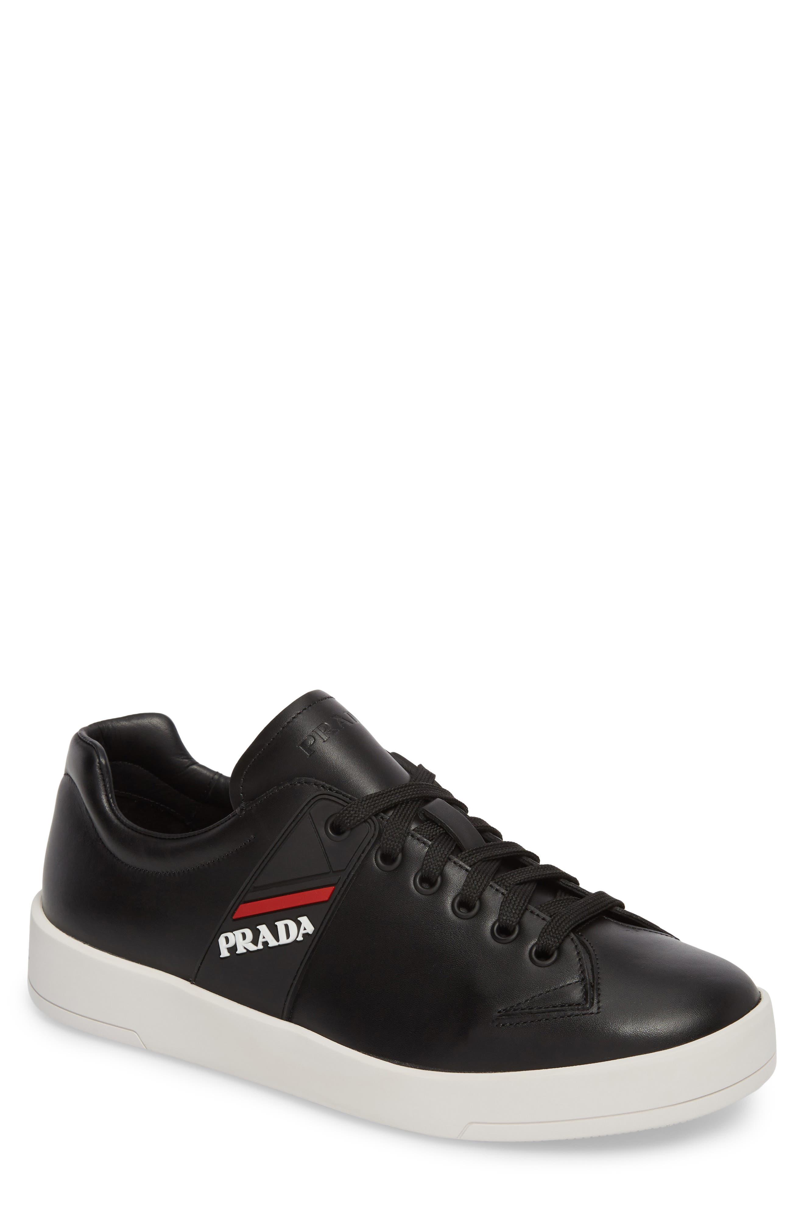 Linea Rossa Sneaker,                             Main thumbnail 1, color,                             Nero Bianco