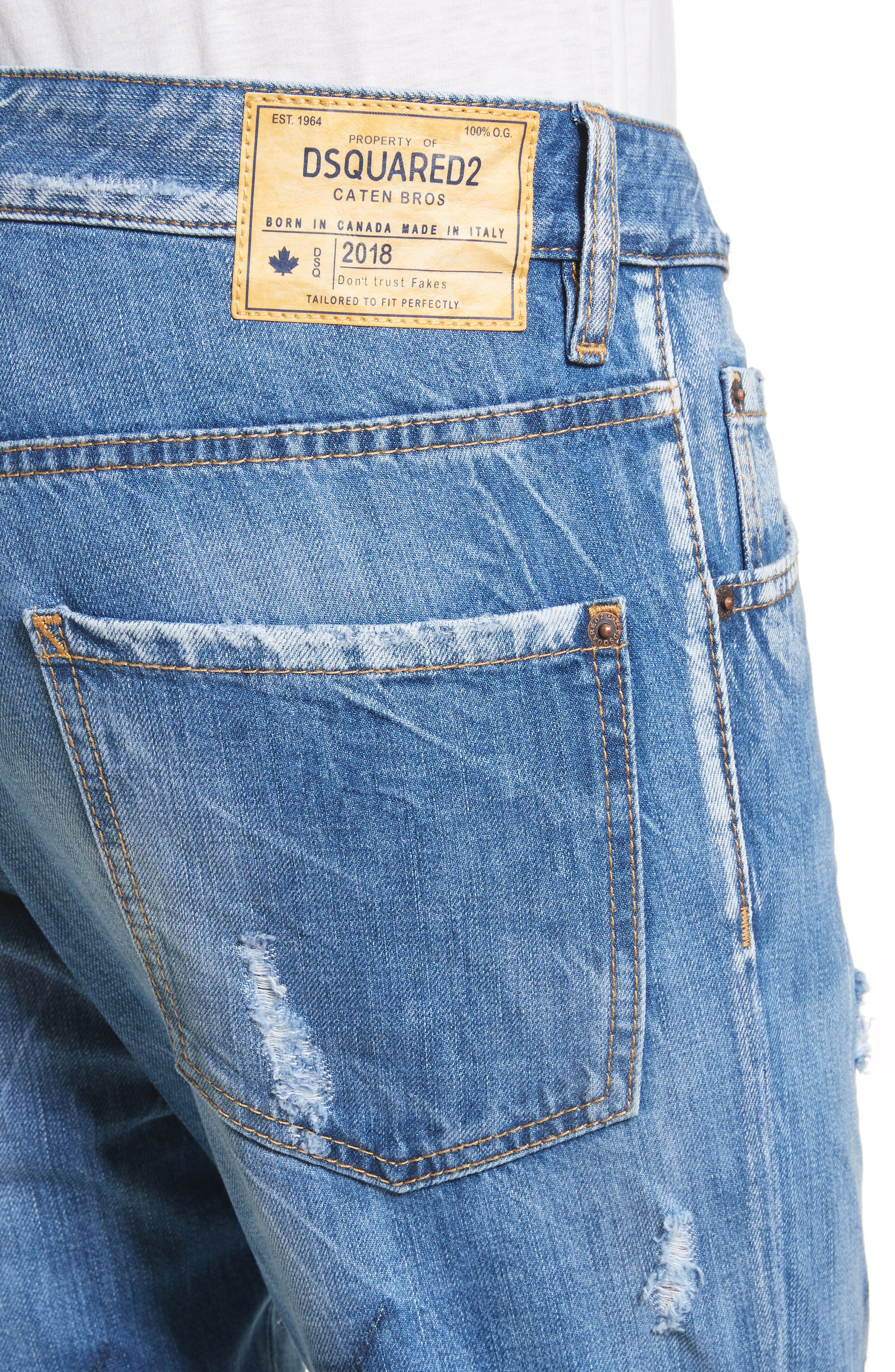 Alternate Image 4  - Dsquared2 Cool Guy Skinny Fit Jeans