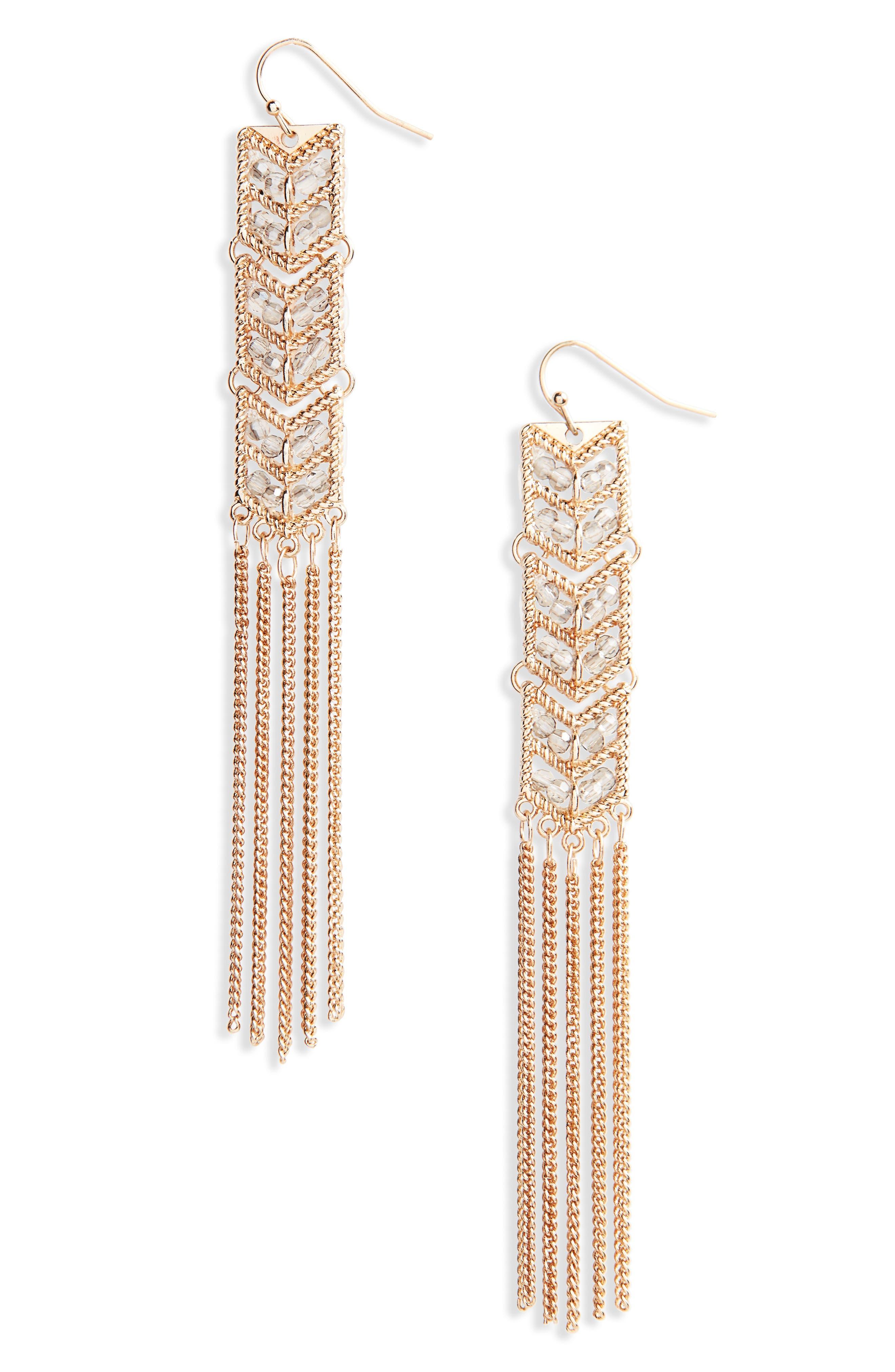 Alternate Image 1 Selected - Loren Olivia Tassel Earrings