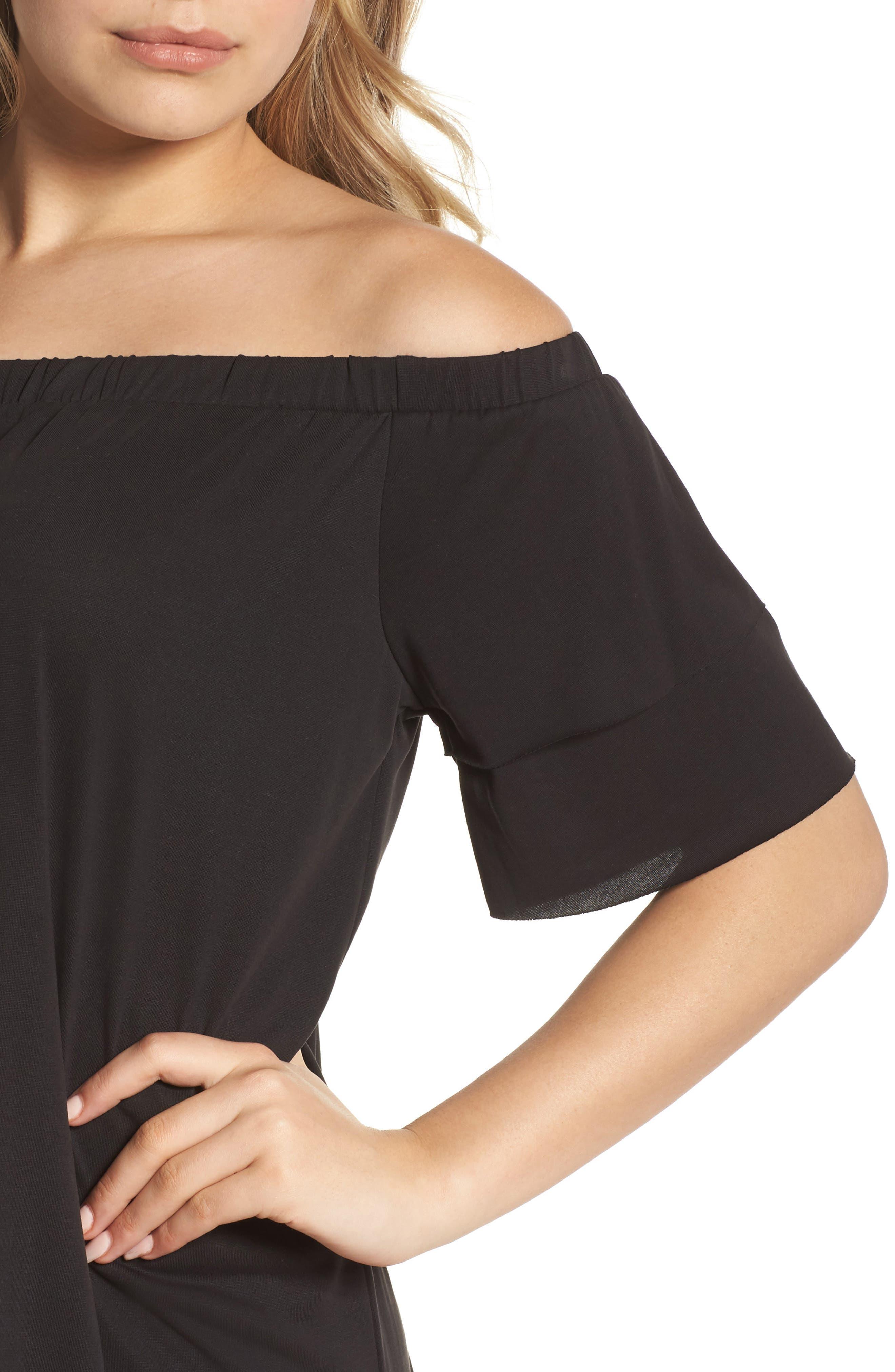 Alternate Image 4  - NSR Off the Shoulder Dress