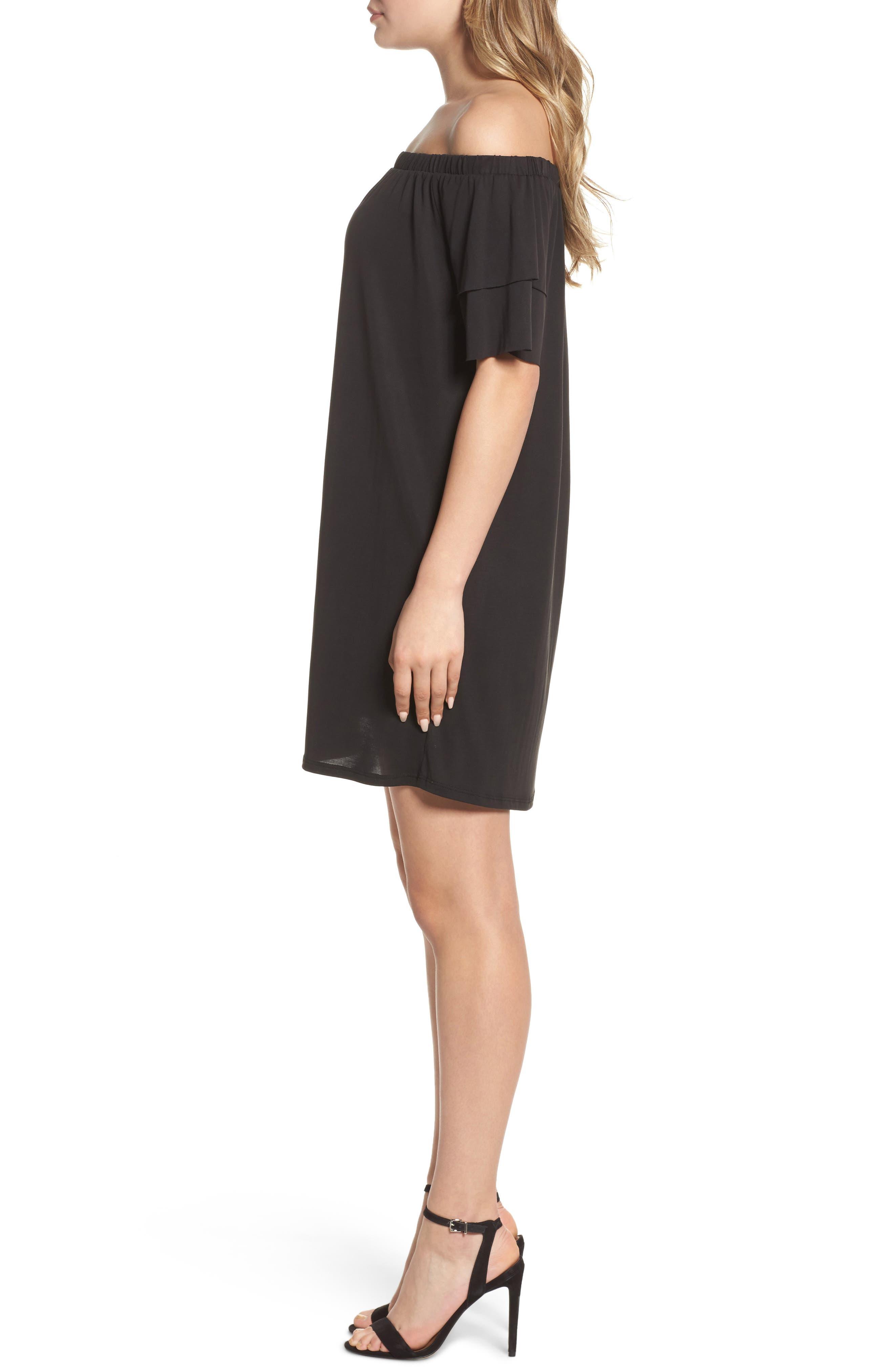 Alternate Image 2  - NSR Off the Shoulder Dress
