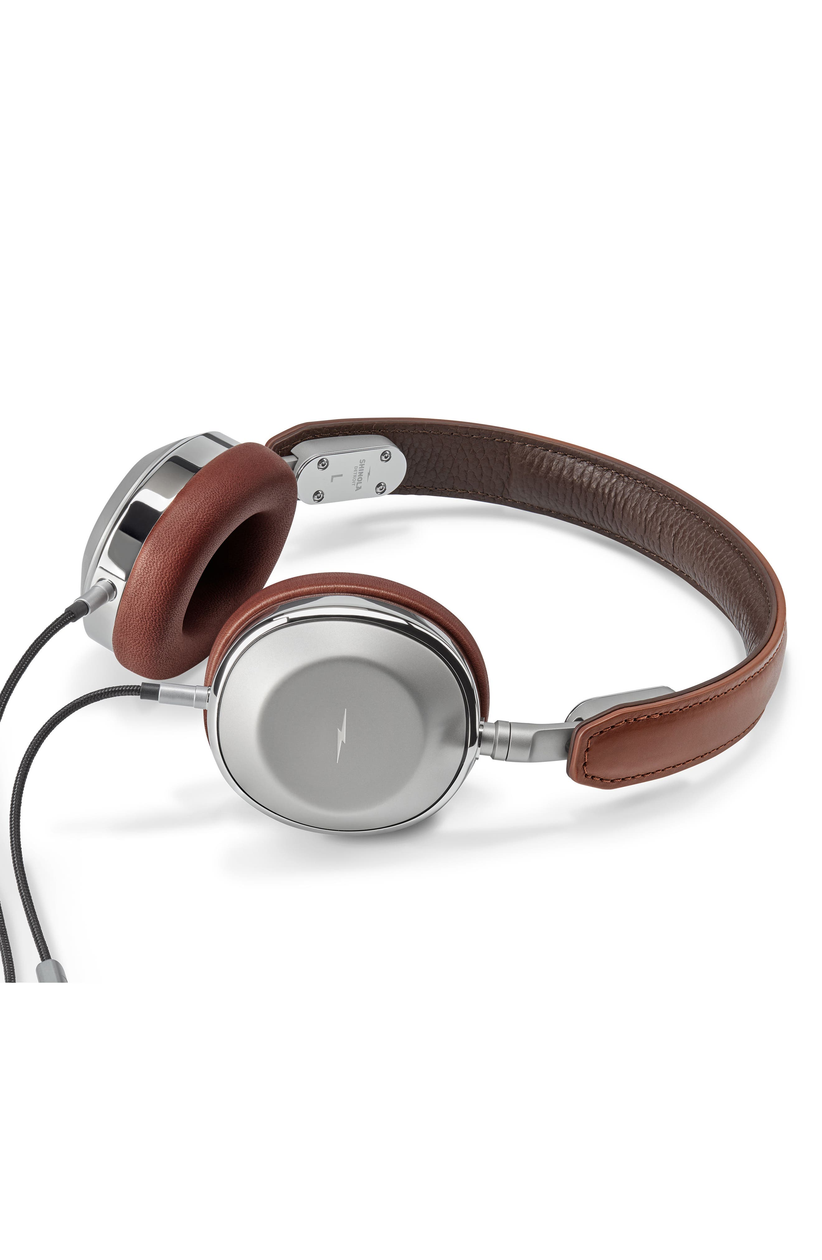 Canfield On-Ear Headphones,                             Alternate thumbnail 2, color,                             Cognac