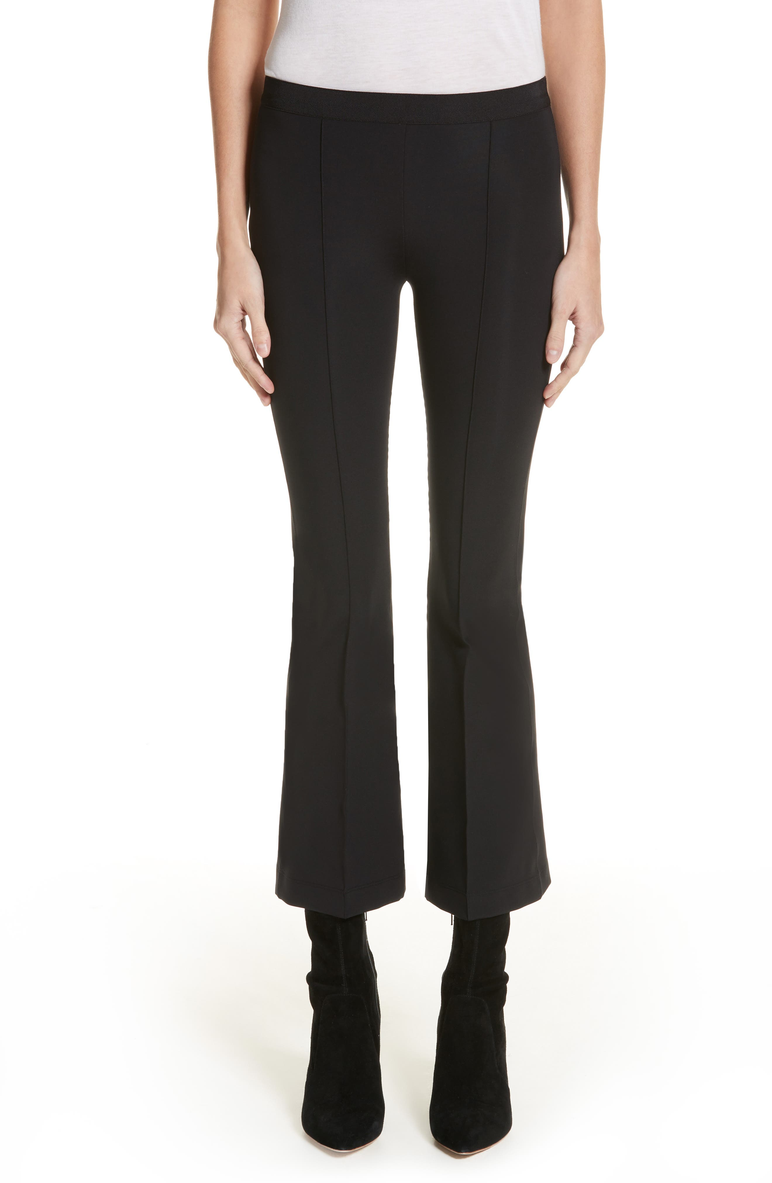 Helmut Lang Technical Crop Flare Leggings