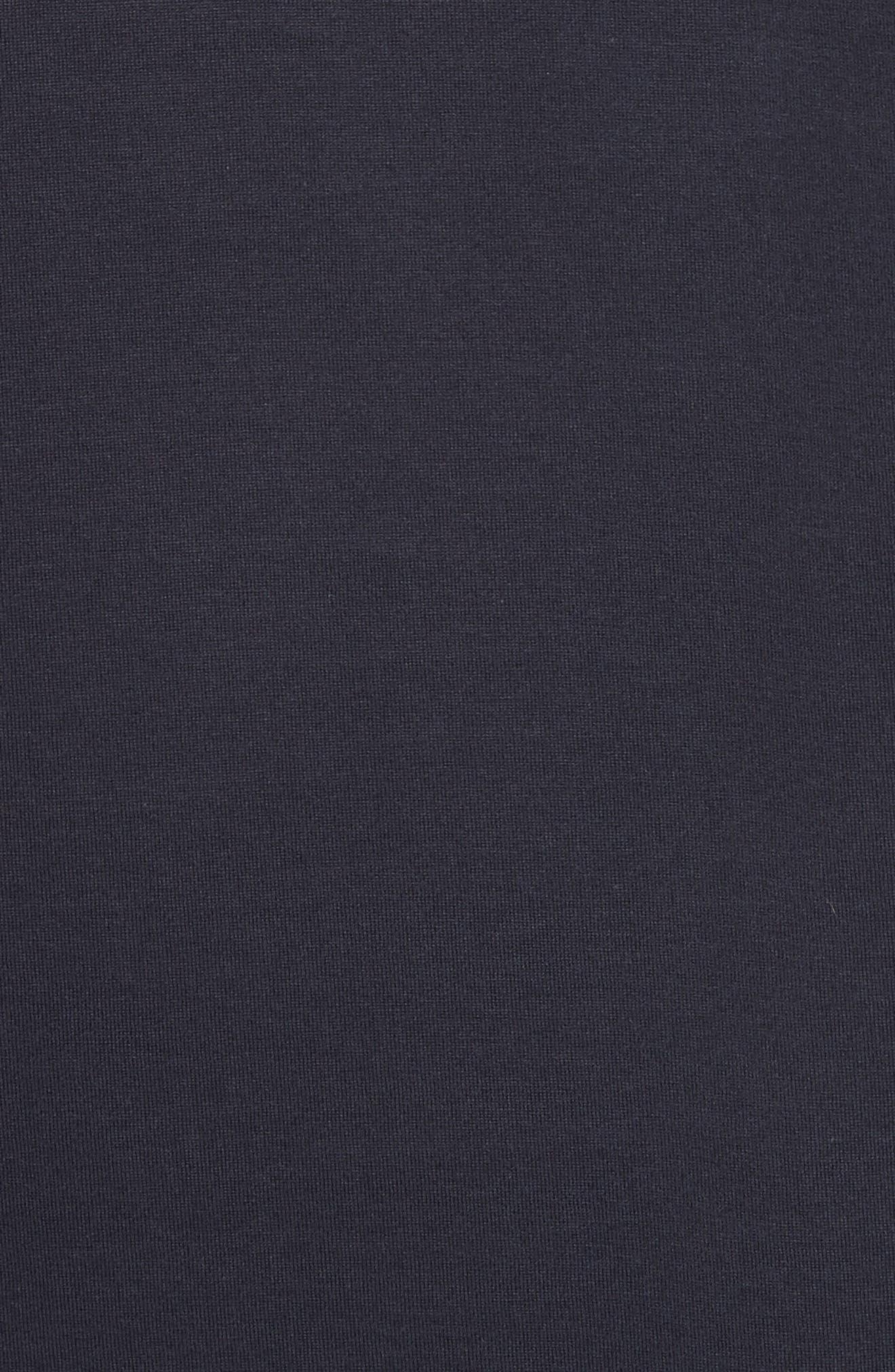 Jersey T-Shirt,                             Alternate thumbnail 5, color,                             Navy