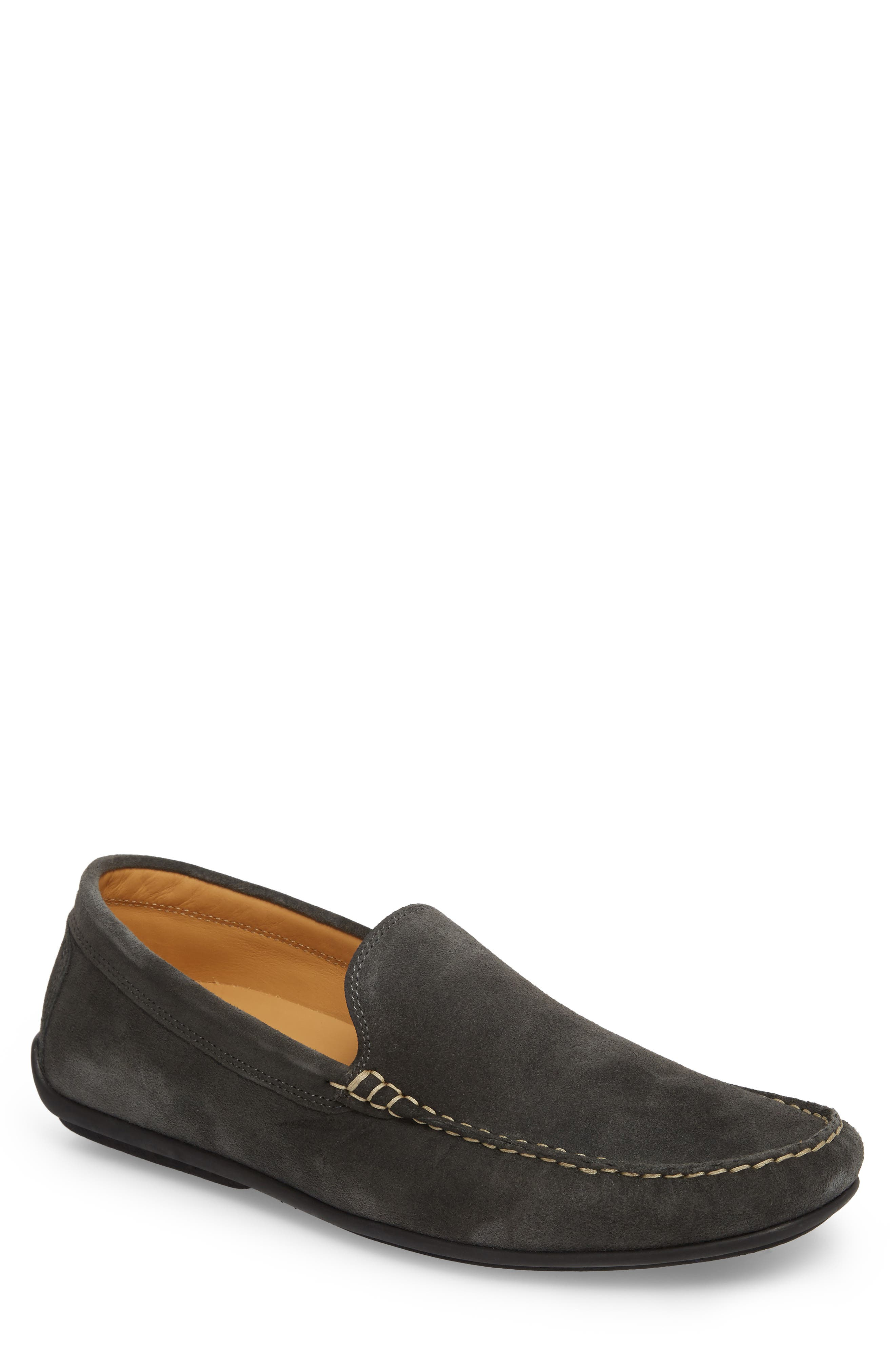 Greyhounds Loafer,                         Main,                         color, Grey Suede