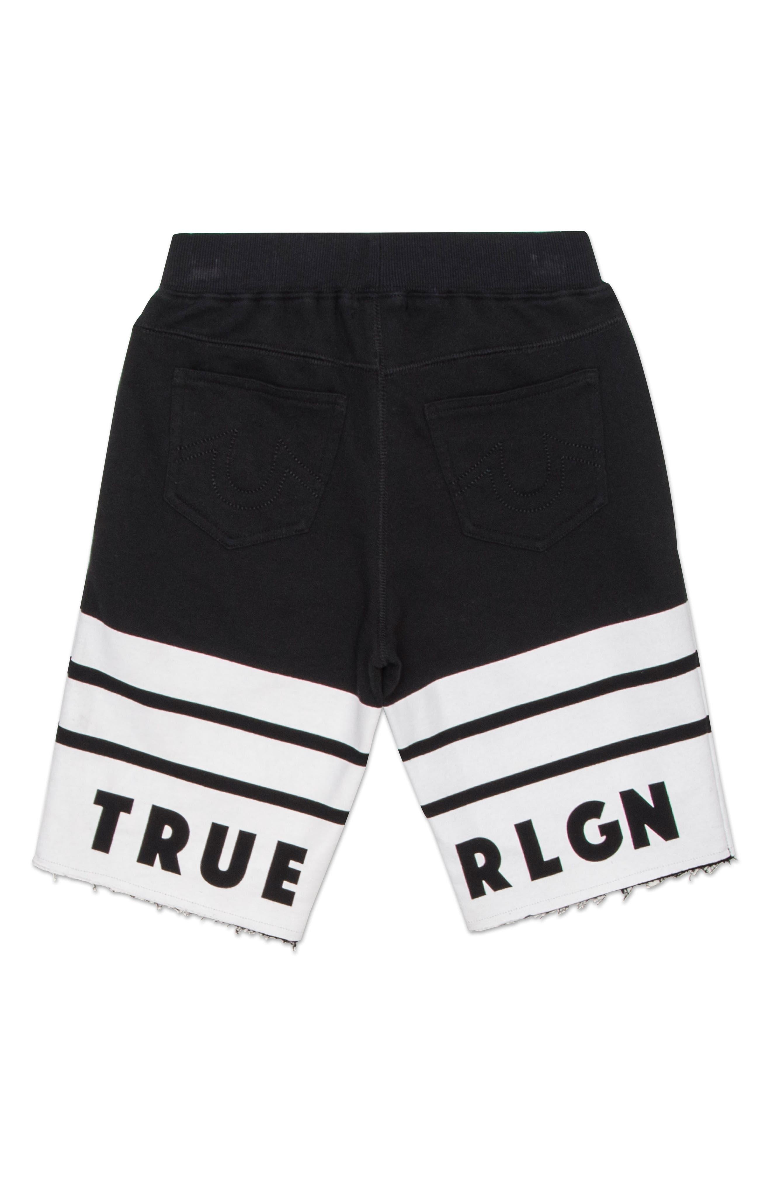 Logo Athletic Shorts,                             Alternate thumbnail 2, color,                             Black