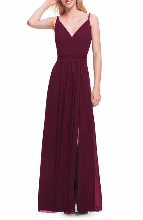 burgundy dresses for women | Nordstrom