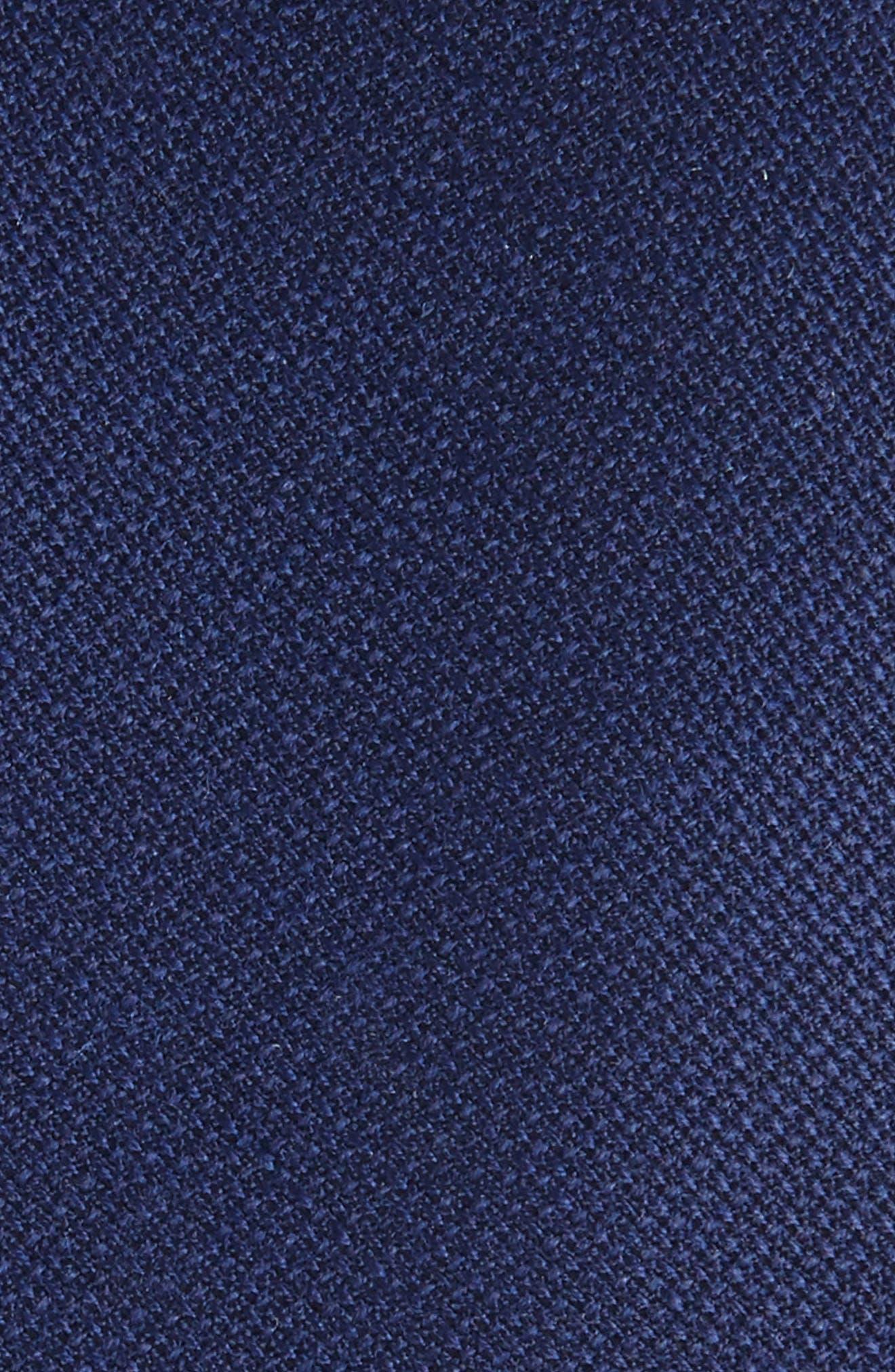 Alternate Image 2  - Eleventy Marled Wool Skinny Tie