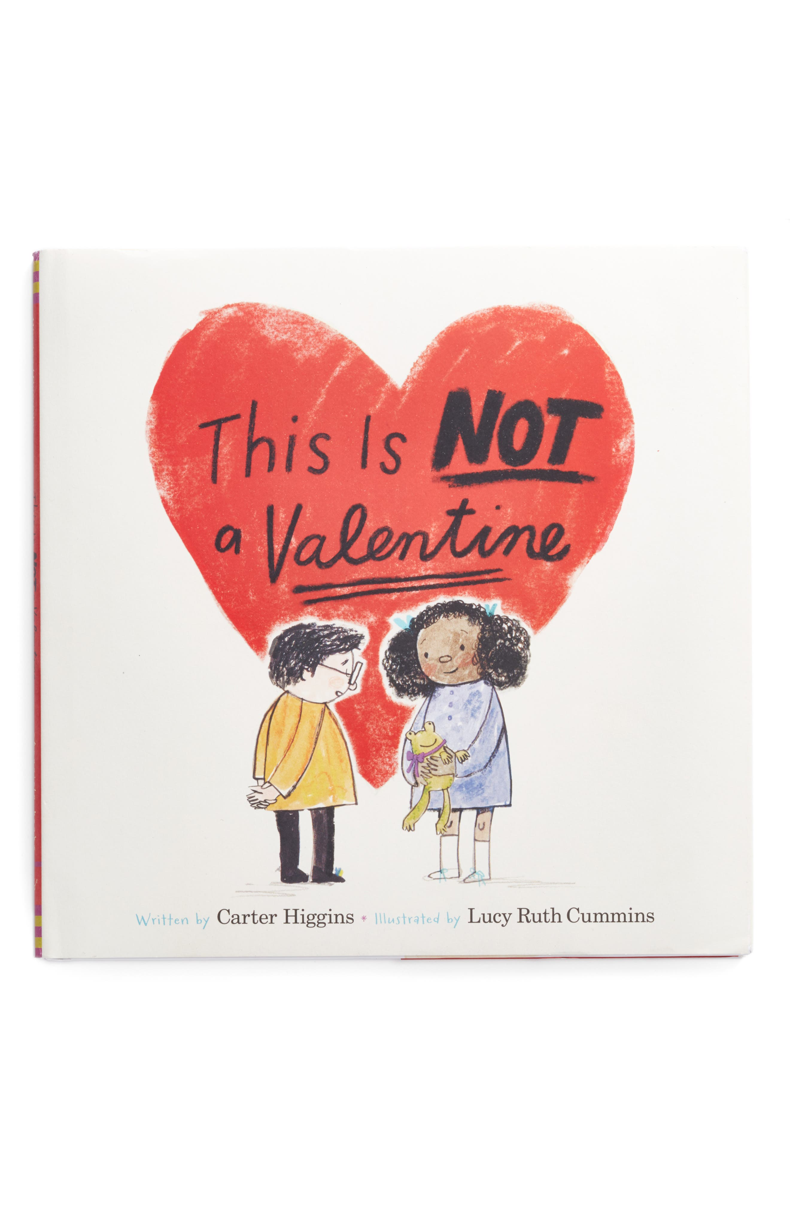 'This Is Not A Valentine' Book,                         Main,                         color, Red