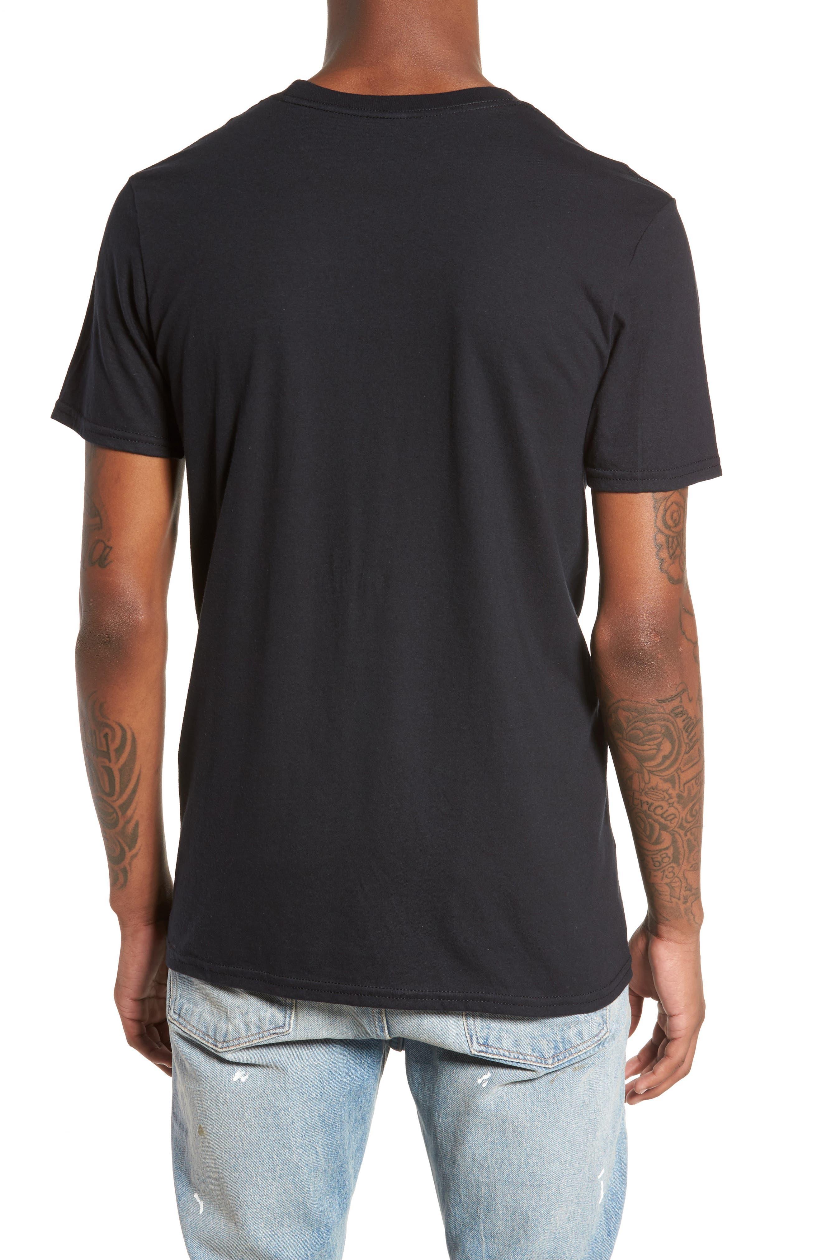 Bone Thugs-n-Harmony T-Shirt,                             Alternate thumbnail 2, color,                             Black Tee Bone Thugs