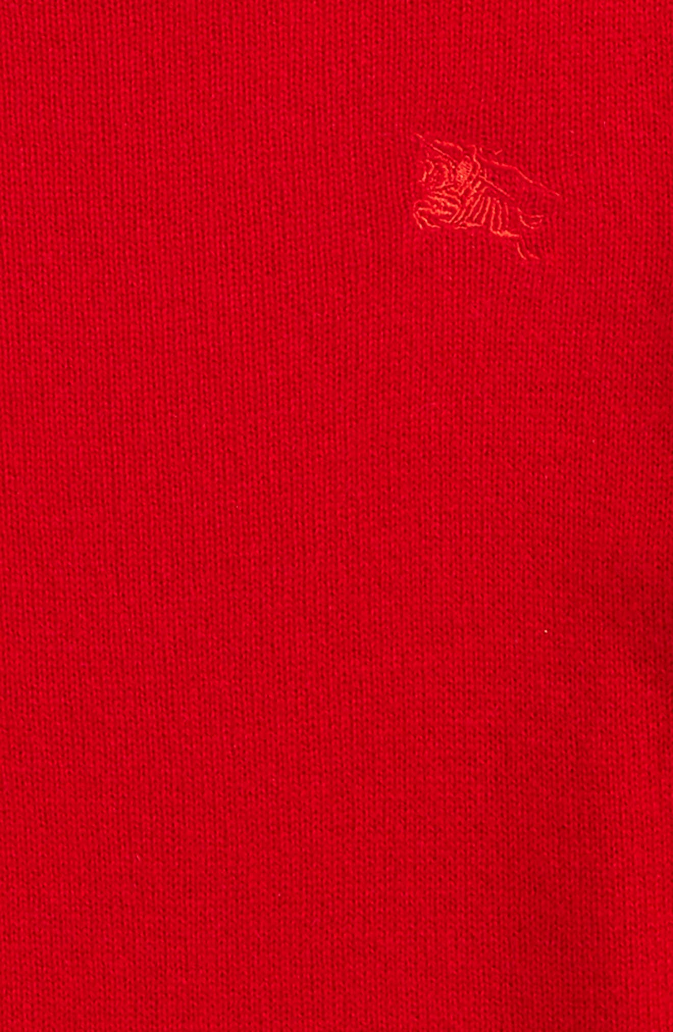 Durham Cashmere Sweater,                             Alternate thumbnail 2, color,                             Parade Red