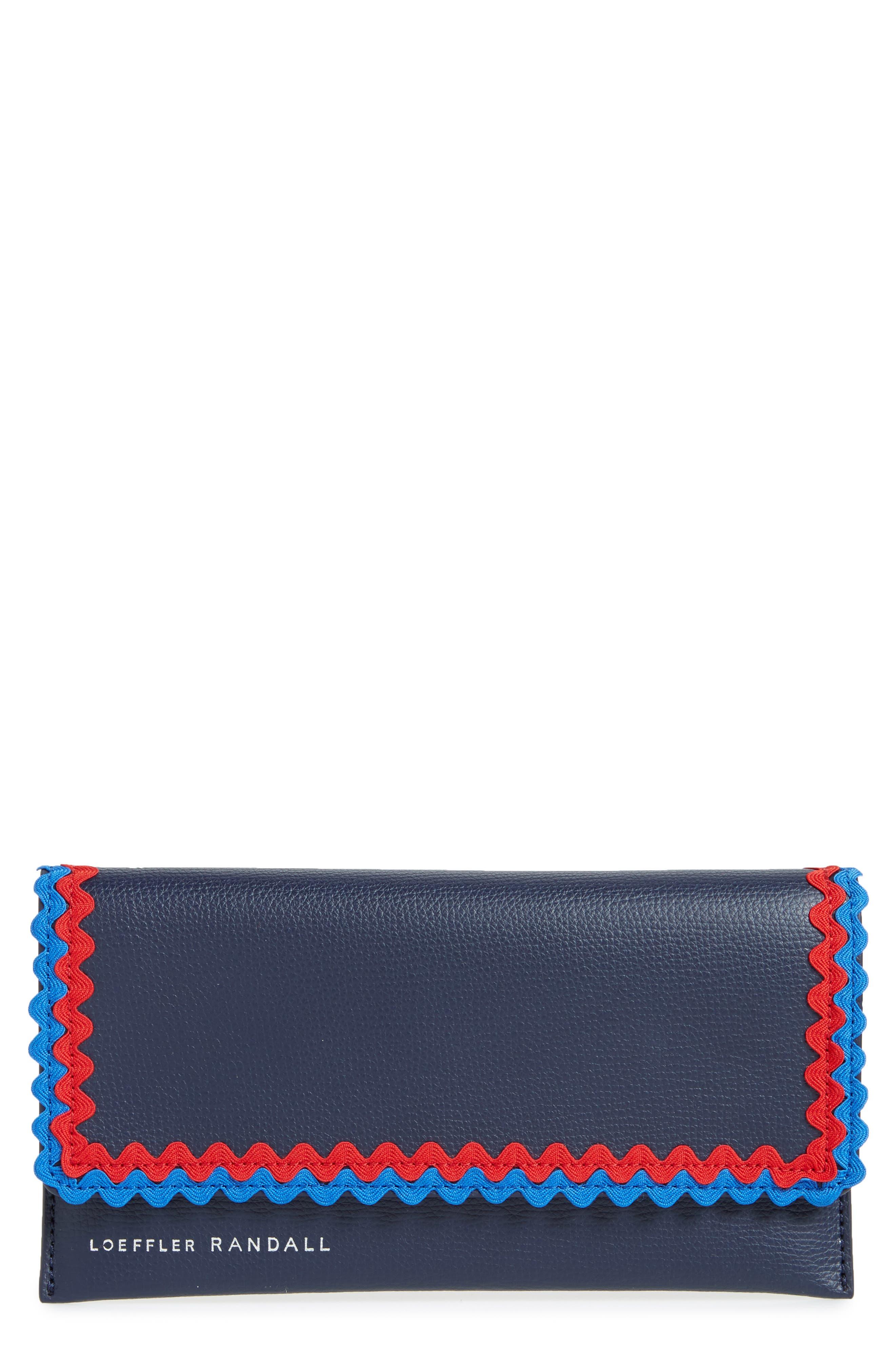 Alternate Image 1 Selected - Loeffler Randall Eveything Embellished Leather Wallet