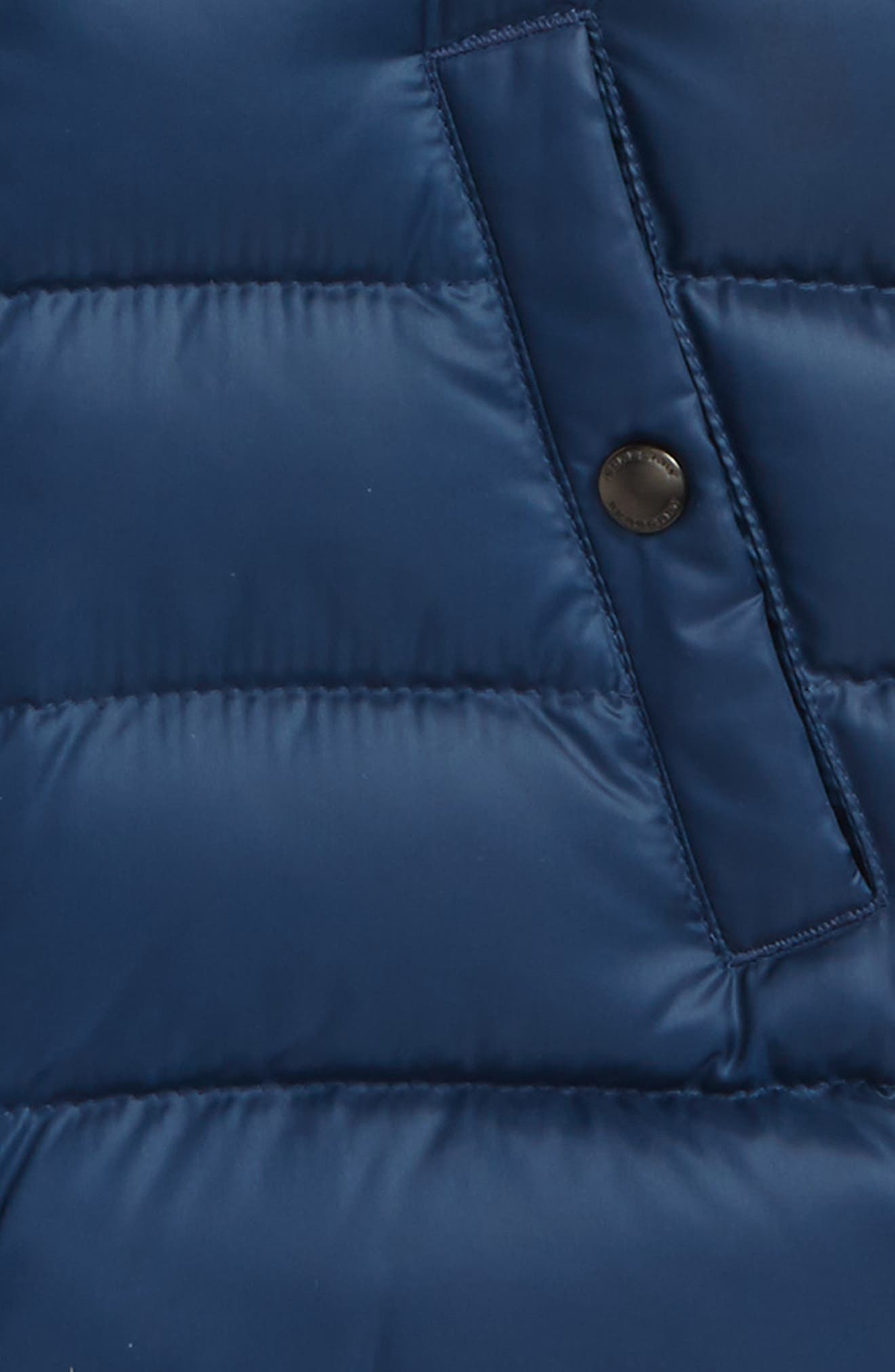 Carlton Quilted Down Vest,                             Alternate thumbnail 2, color,                             Ink Blue