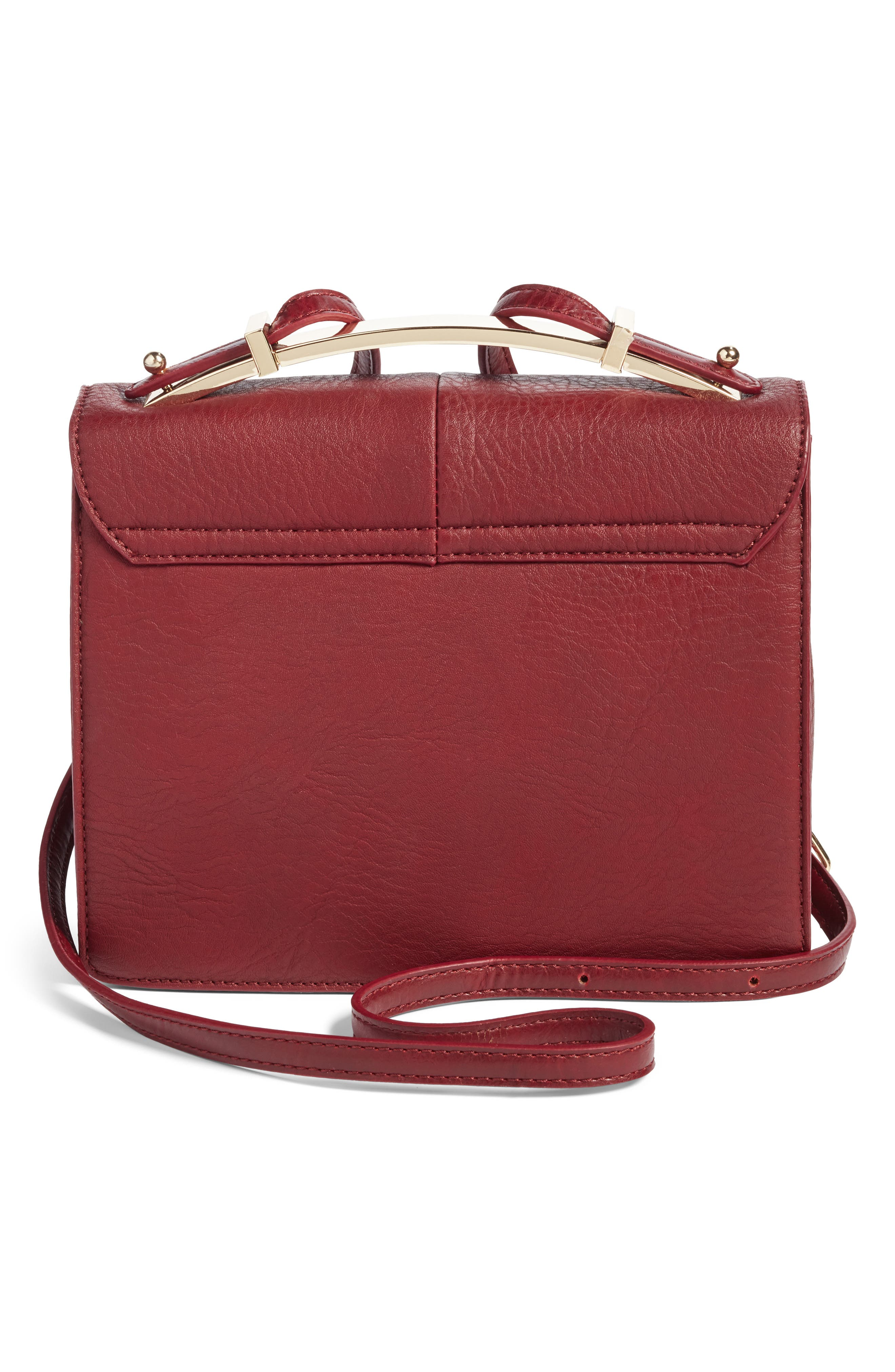 Alternate Image 3  - Sole Society Krista Faux Leather Crossbody Bag