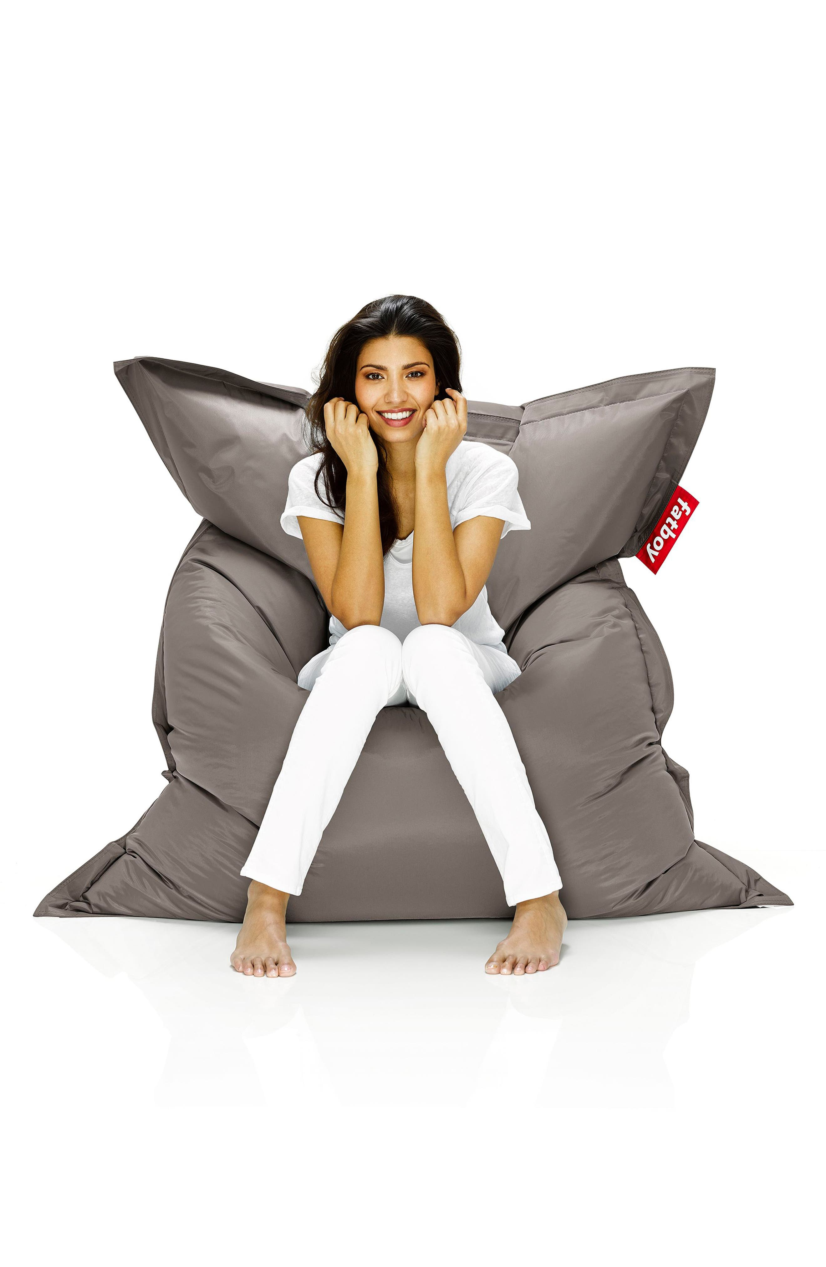 Original Beanbag Chair,                             Alternate thumbnail 2, color,                             Taupe