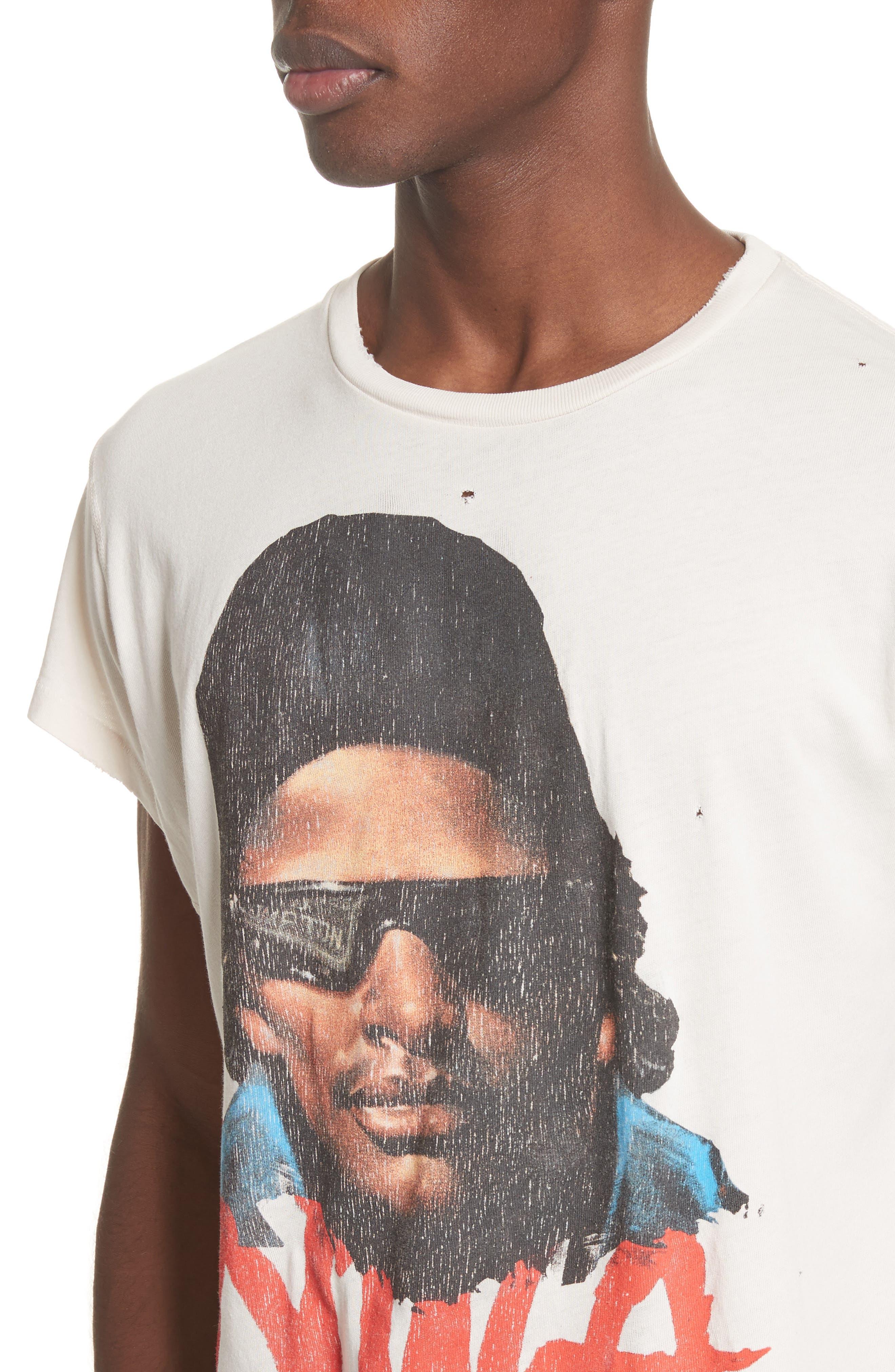 Easy E Graphic T-Shirt,                             Alternate thumbnail 4, color,                             Off White