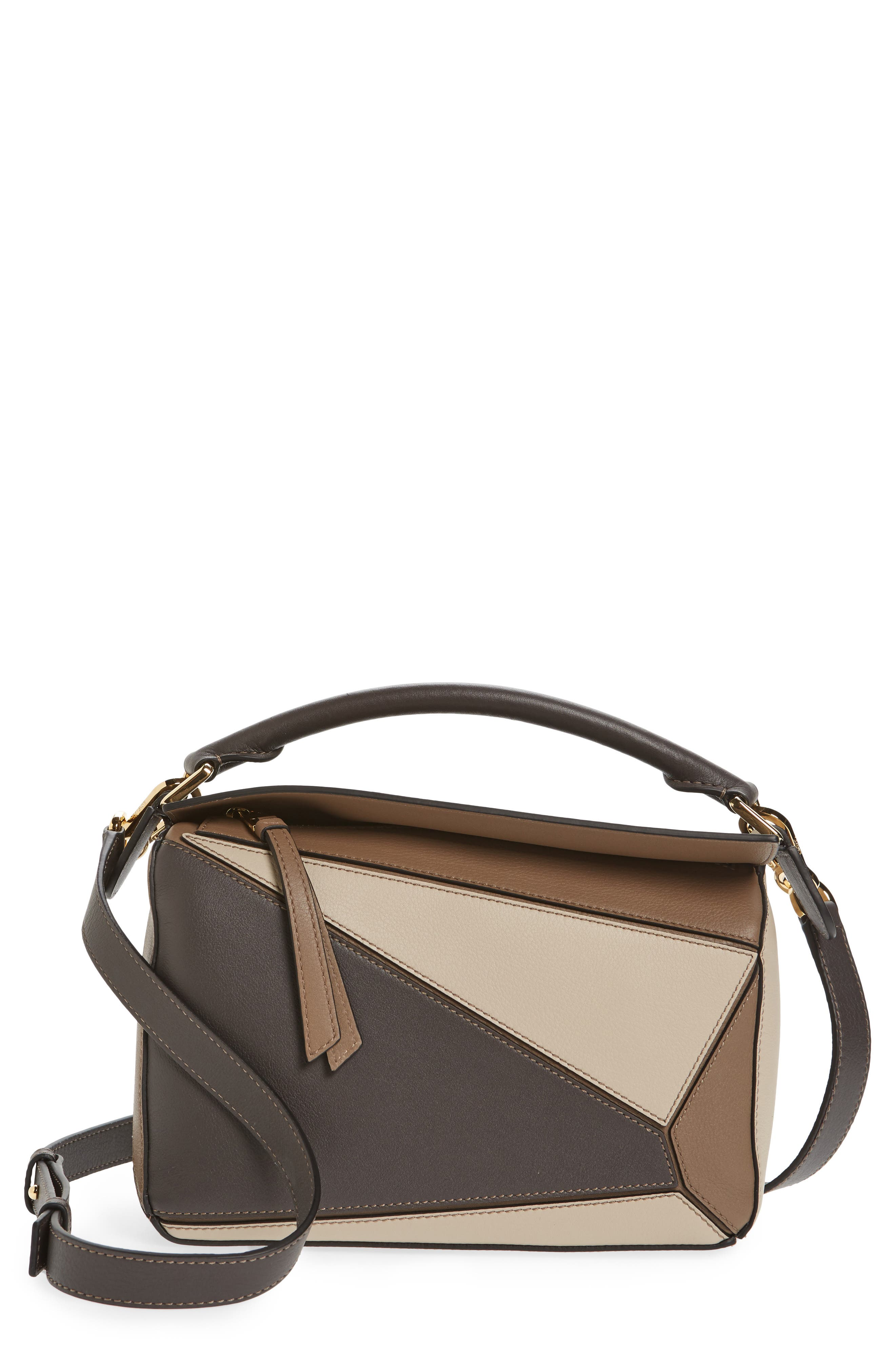 Loewe Small Puzzle Tricolor Leather Bag