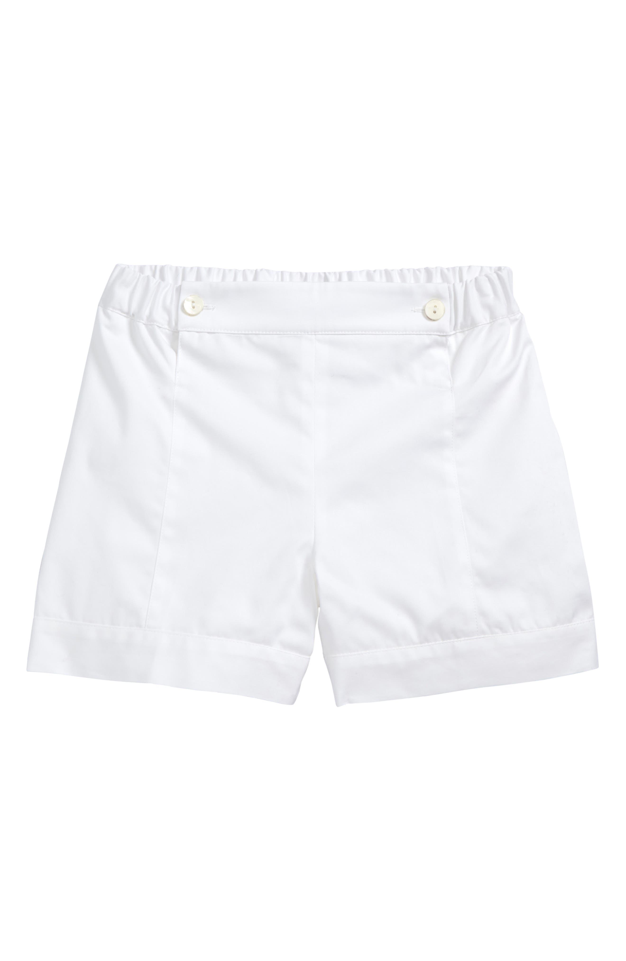 Sailor Shorts,                             Main thumbnail 1, color,                             White