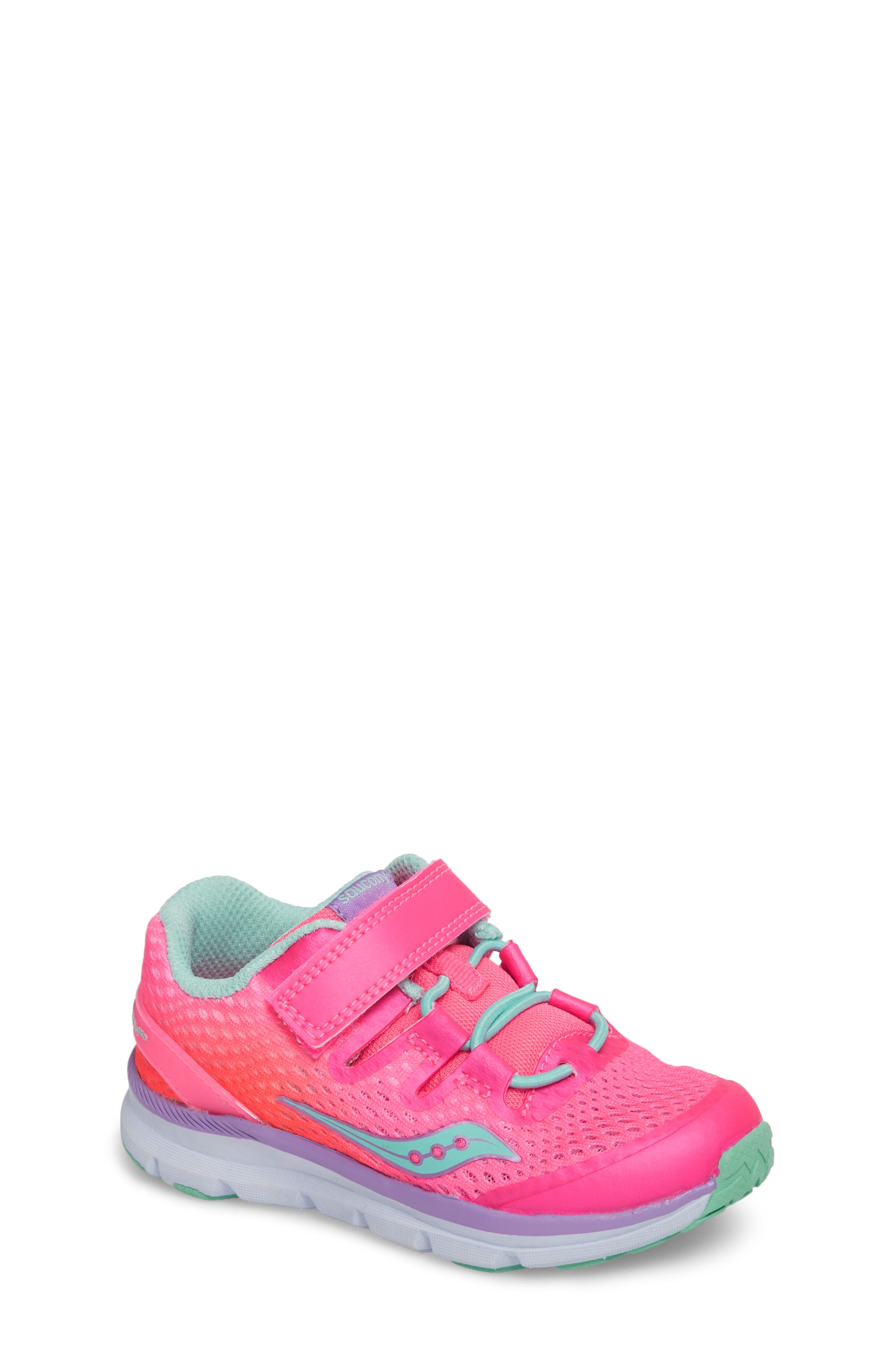 Main Image - Saucony Baby Freedom ISO Sneaker (Baby, Walker & Toddler)