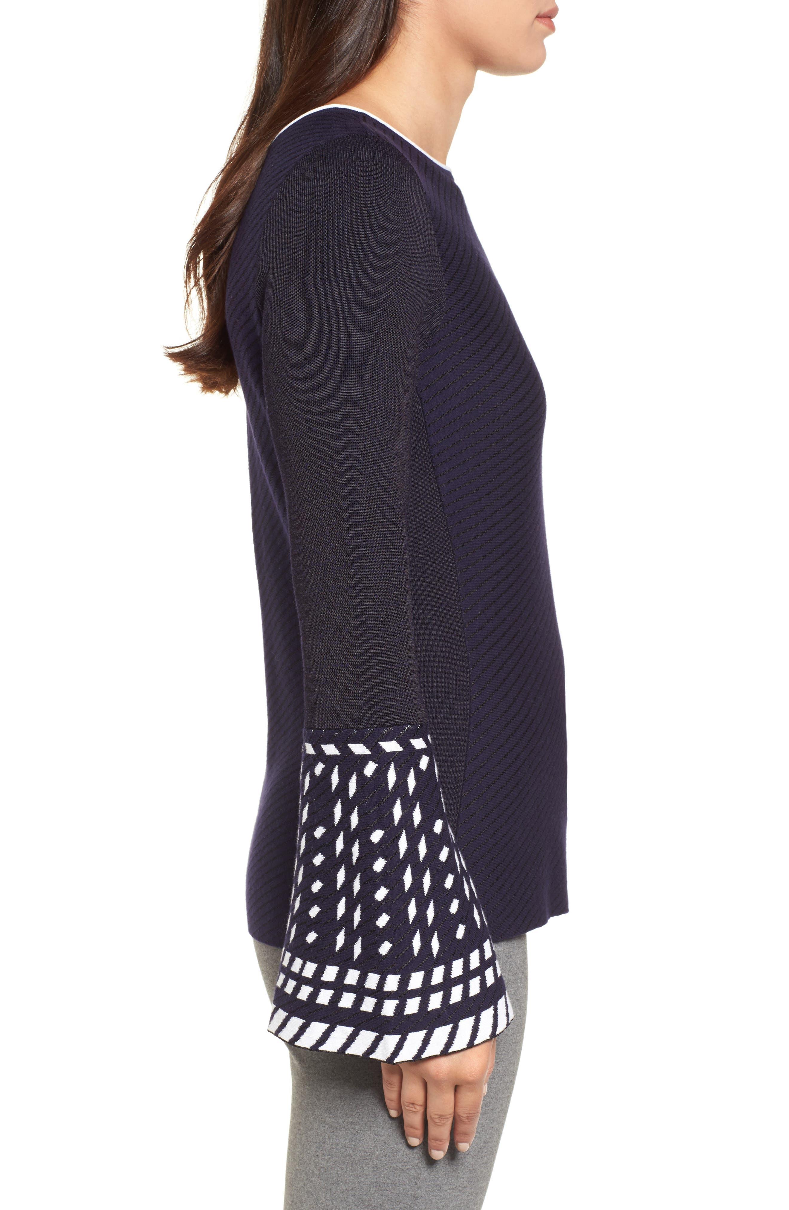 Alternate Image 2  - NIC+ZOE Falling Star Sweater (Regular & Petite)