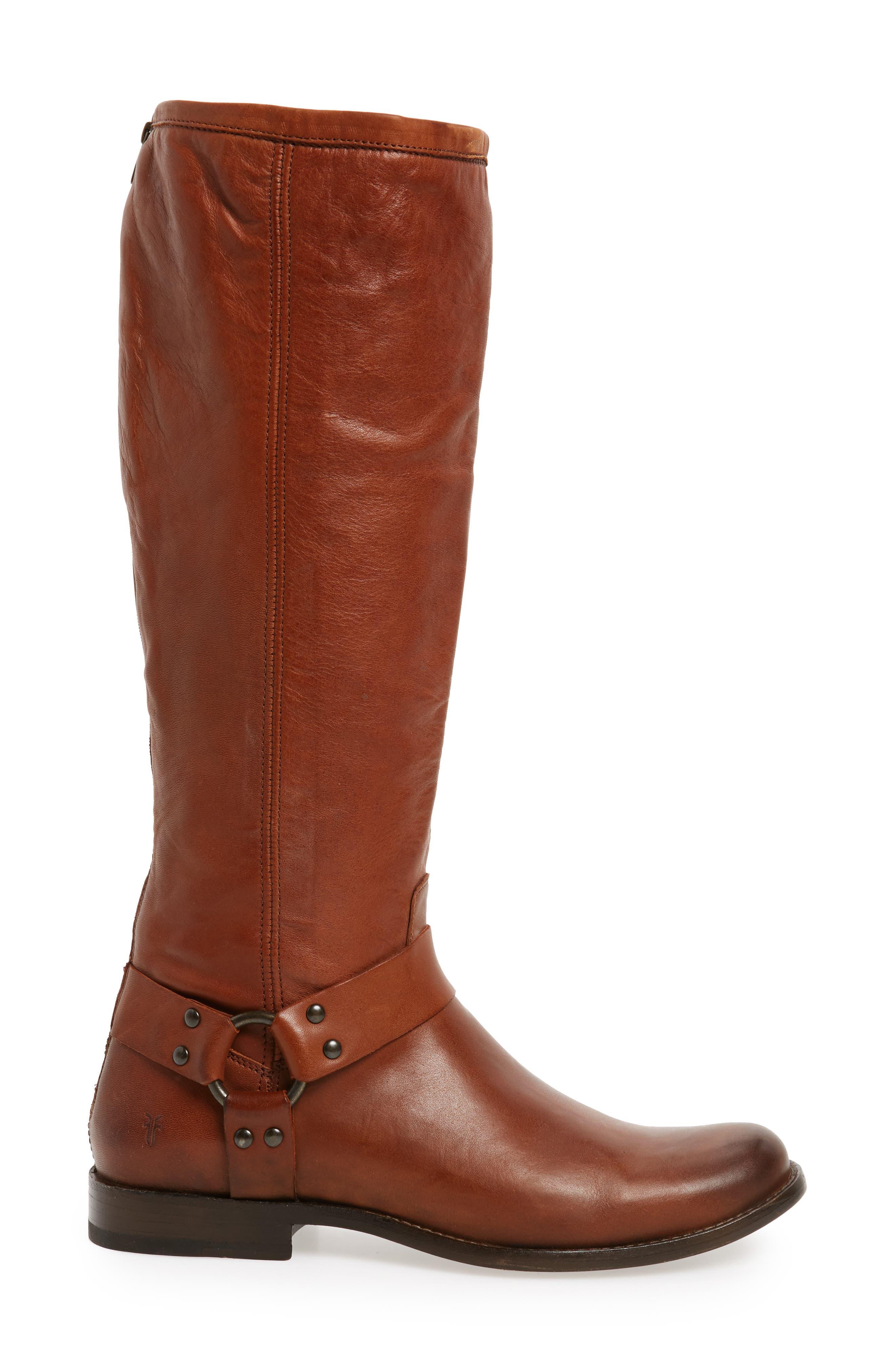 Alternate Image 3  - Frye Phillip Harness Tall Boot (Women) (Regular & Extended Calf)