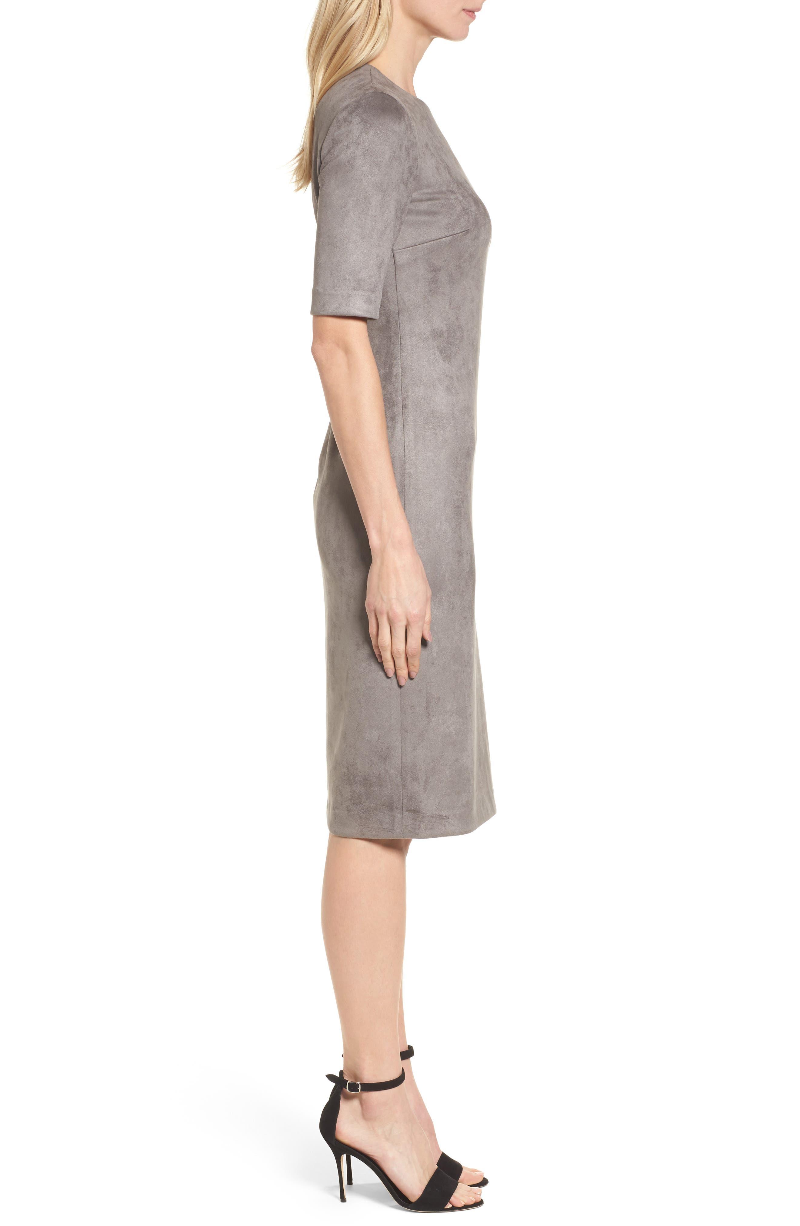 Alternate Image 3  - Anne Klein Scuba Knit Sheath Dress