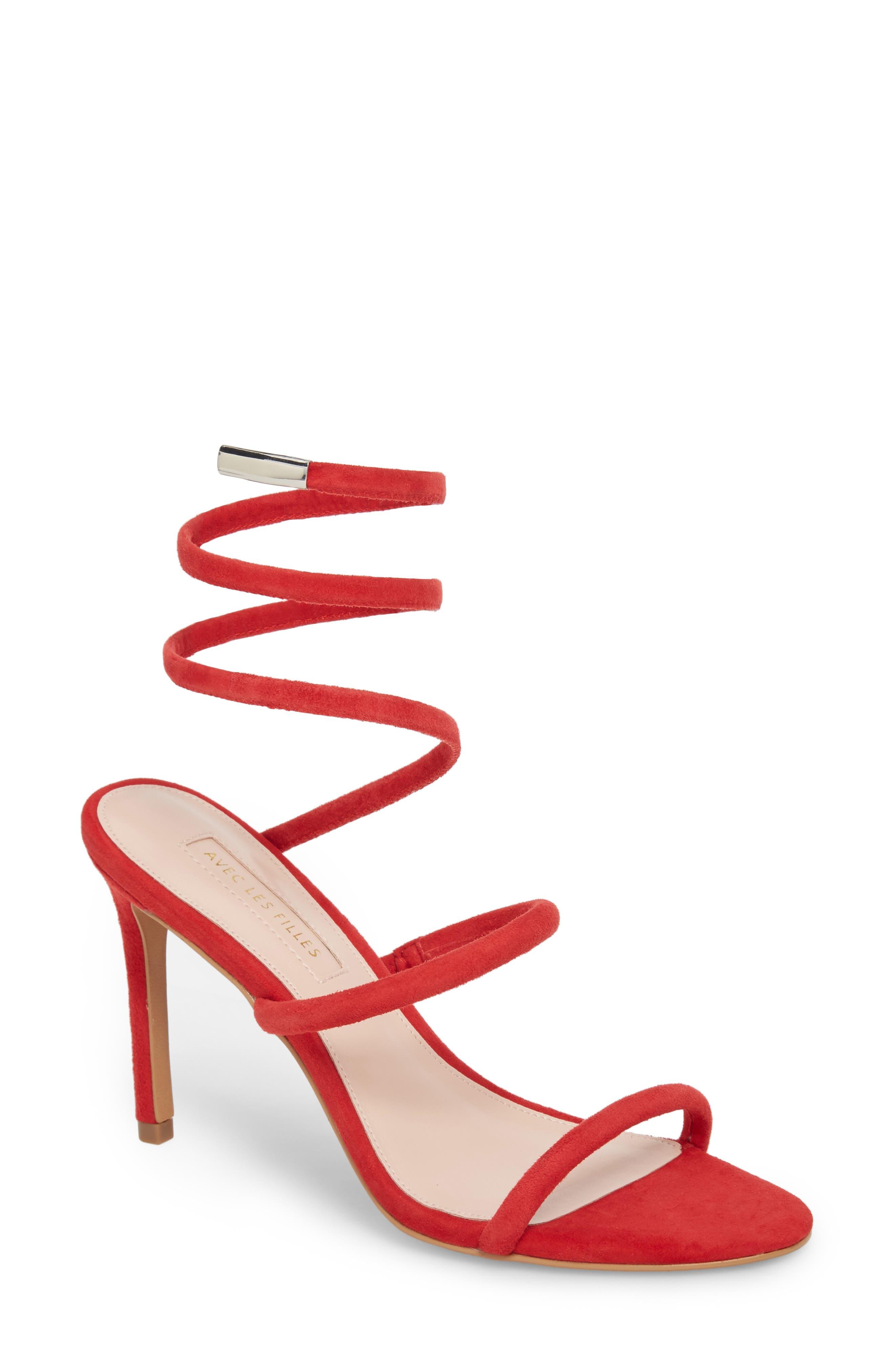 Avec Les Filles Joia Ankle Wrap Sandal (Women)