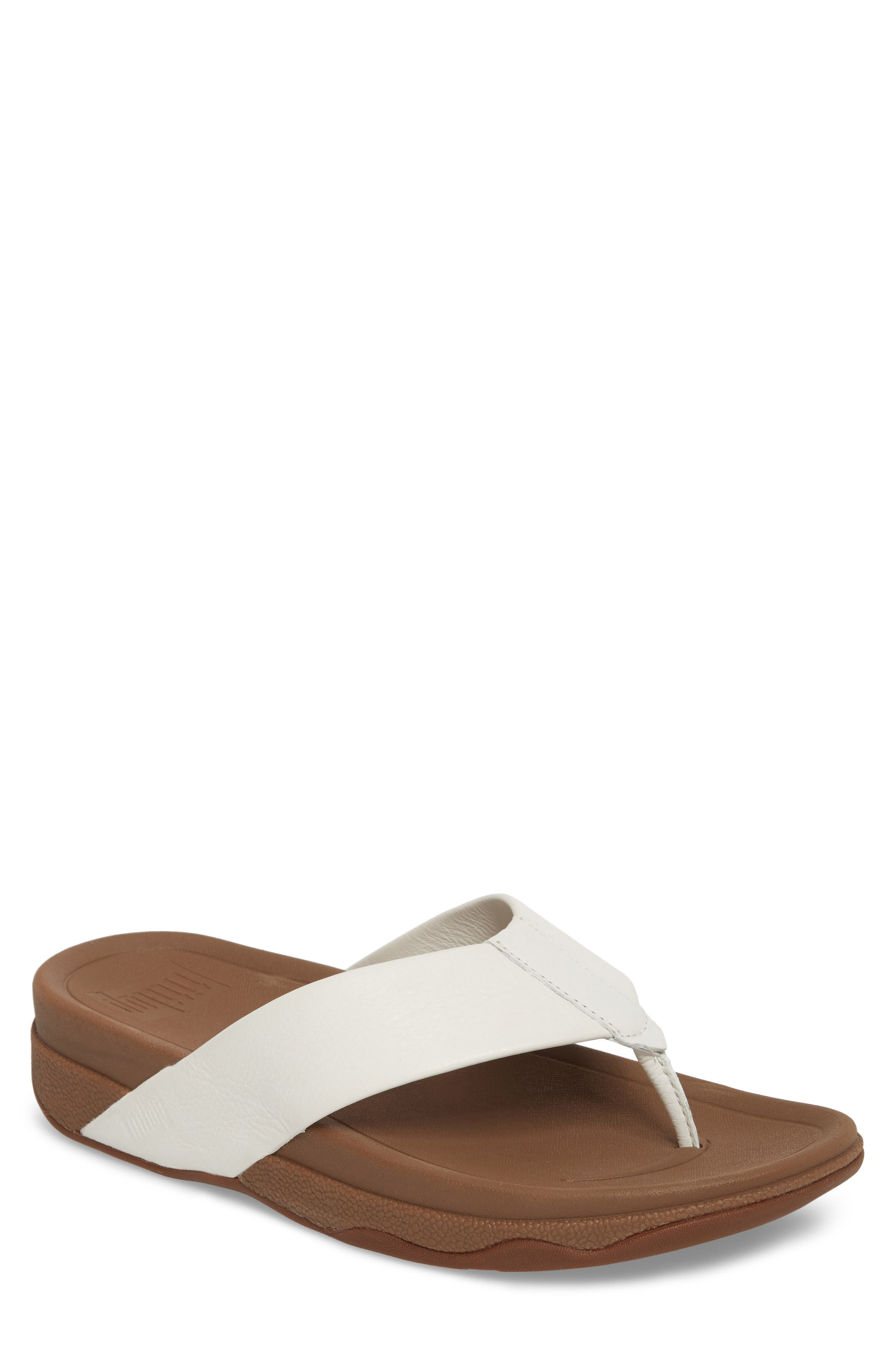 7b58656e786ac Fitflop Surfer Flip Flop In Urban White