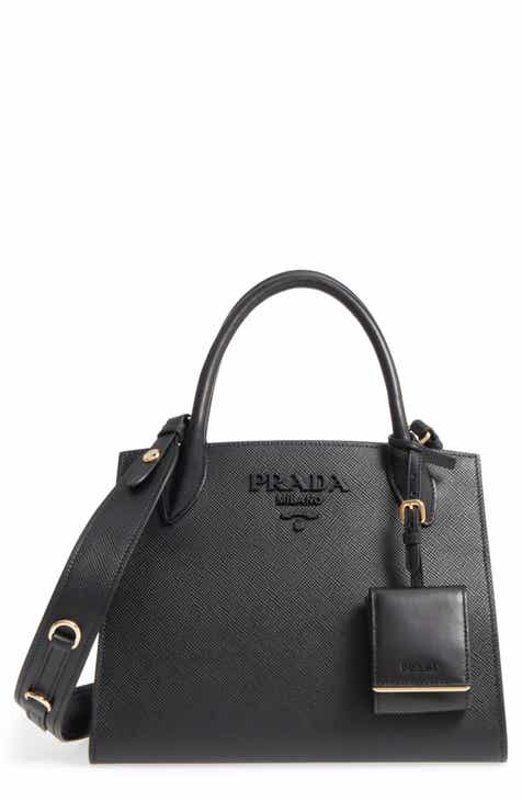 Prada Small Monochrome Tote
