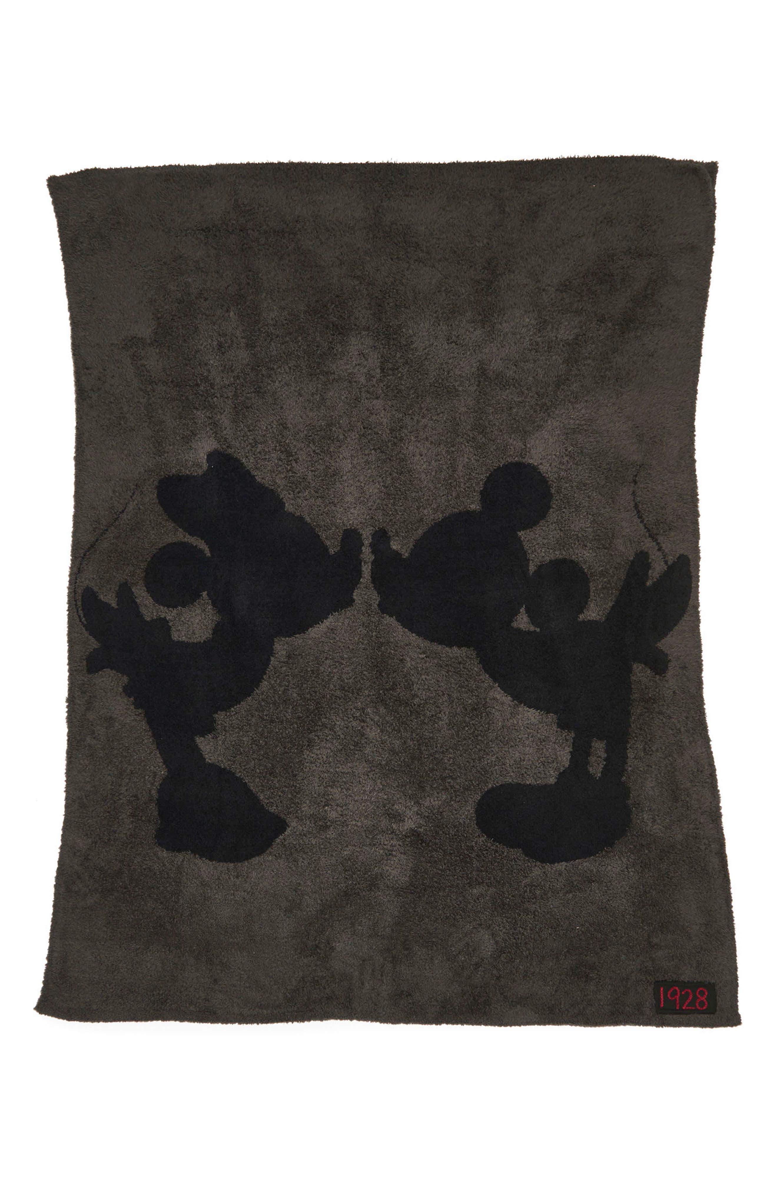 Disney<sup>®</sup> Classic Throw,                         Main,                         color, Carbon/ Black